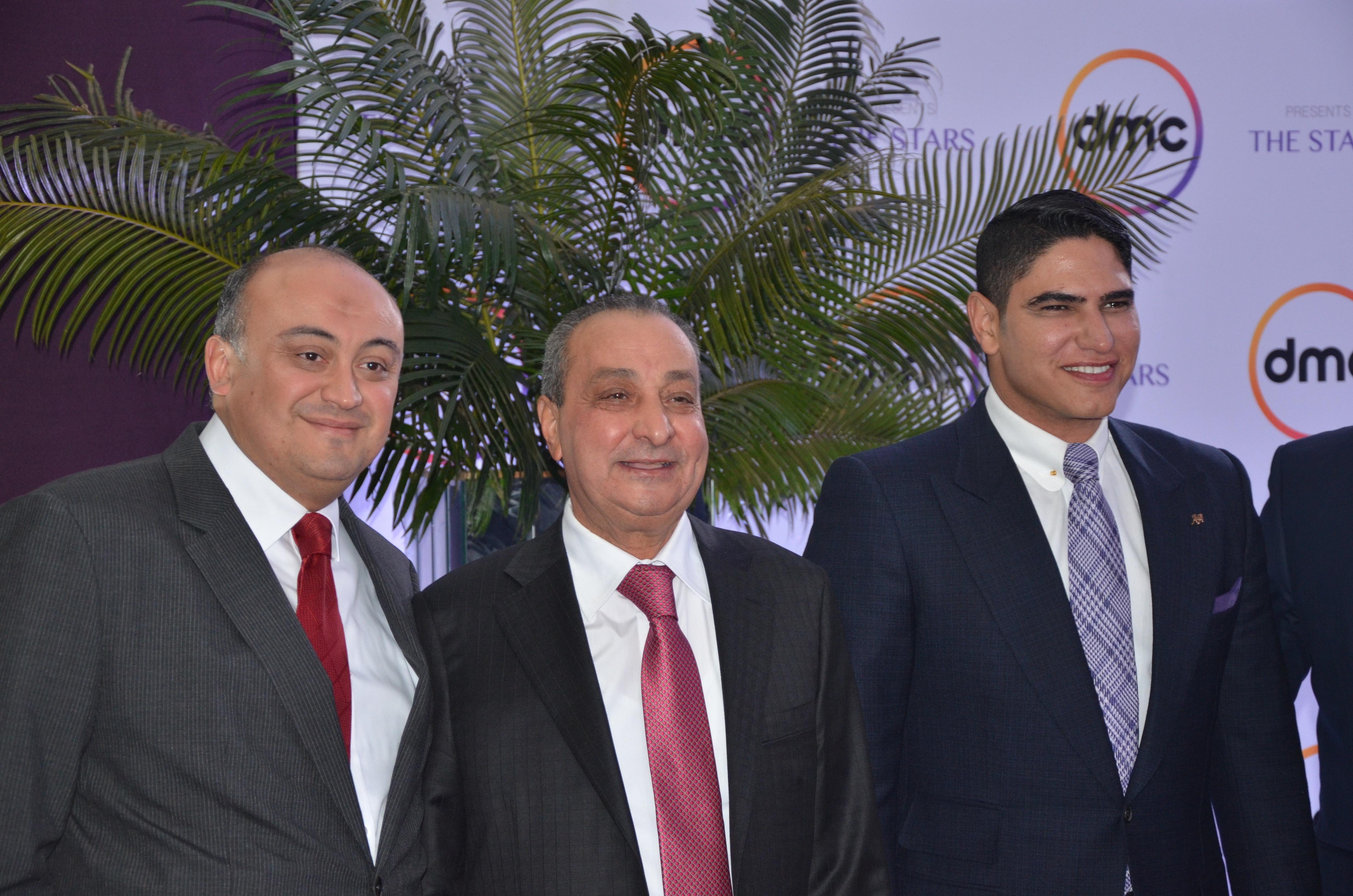 Alaa El Kahky, Mohamed El Amin and Ahmed Abou Hashima