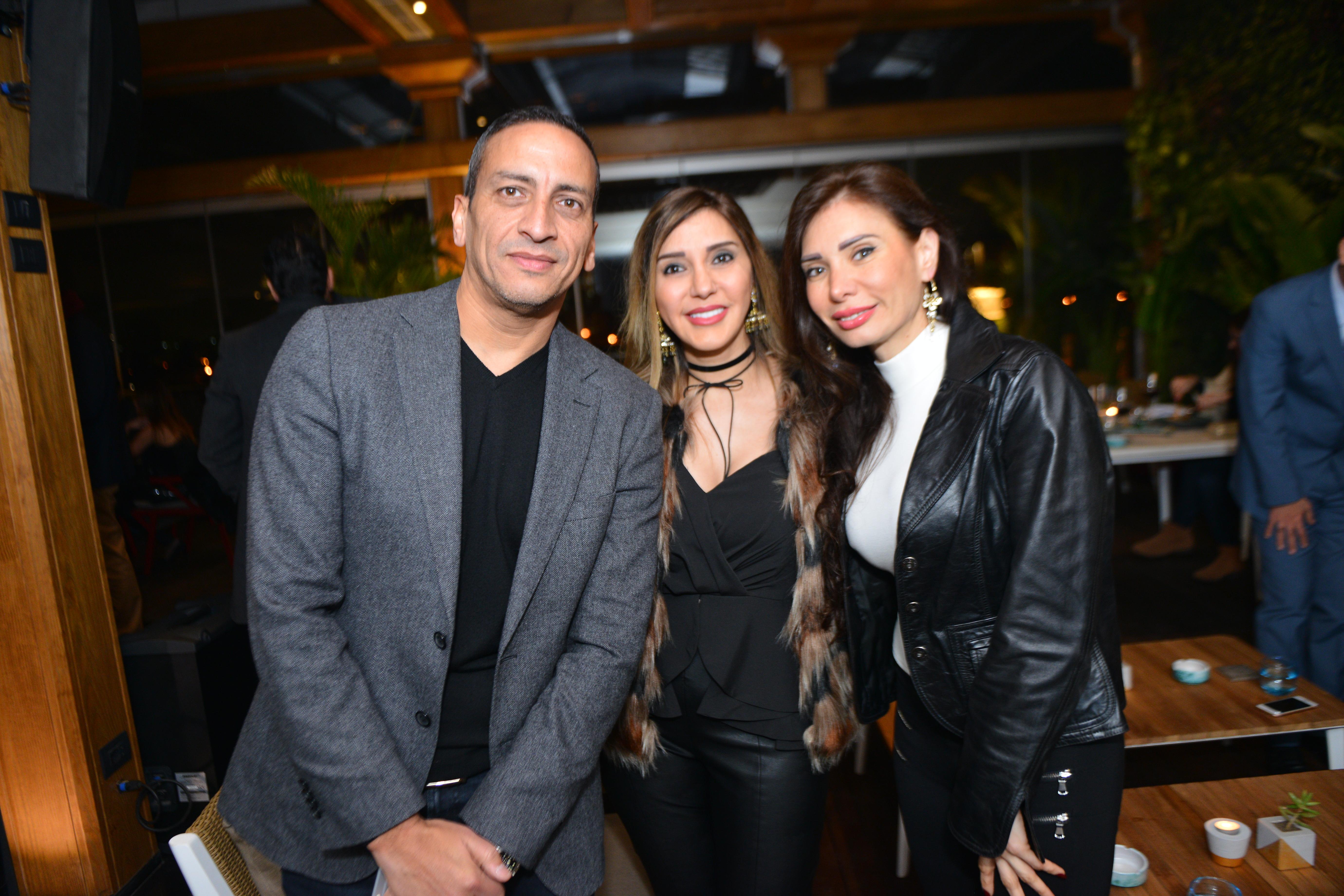 Mr. Amr Hussein, Ms. Mona Tawfik & Ms. Diana Nasser