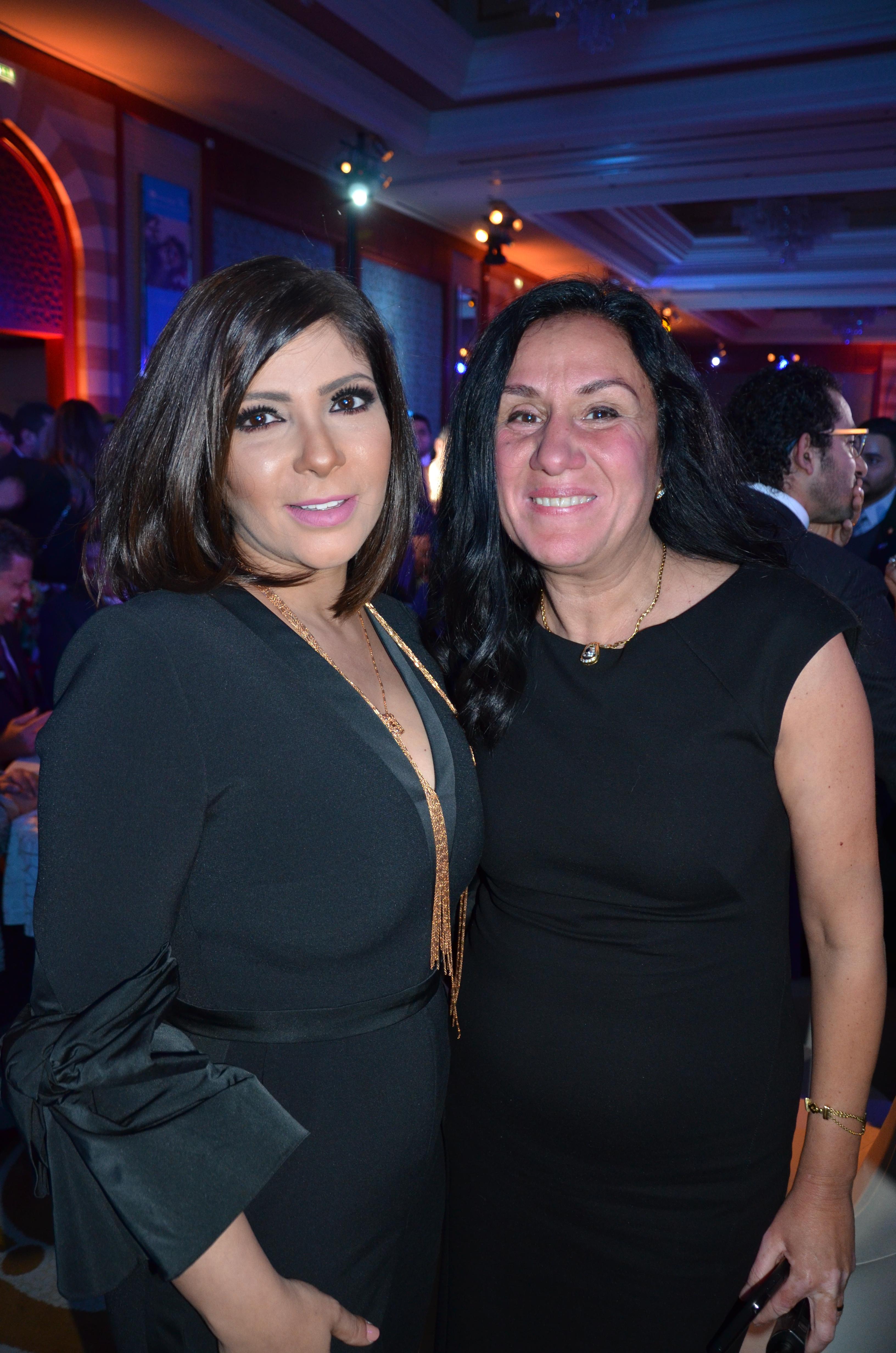Mona Zaki & Ms. Ghada Shaker