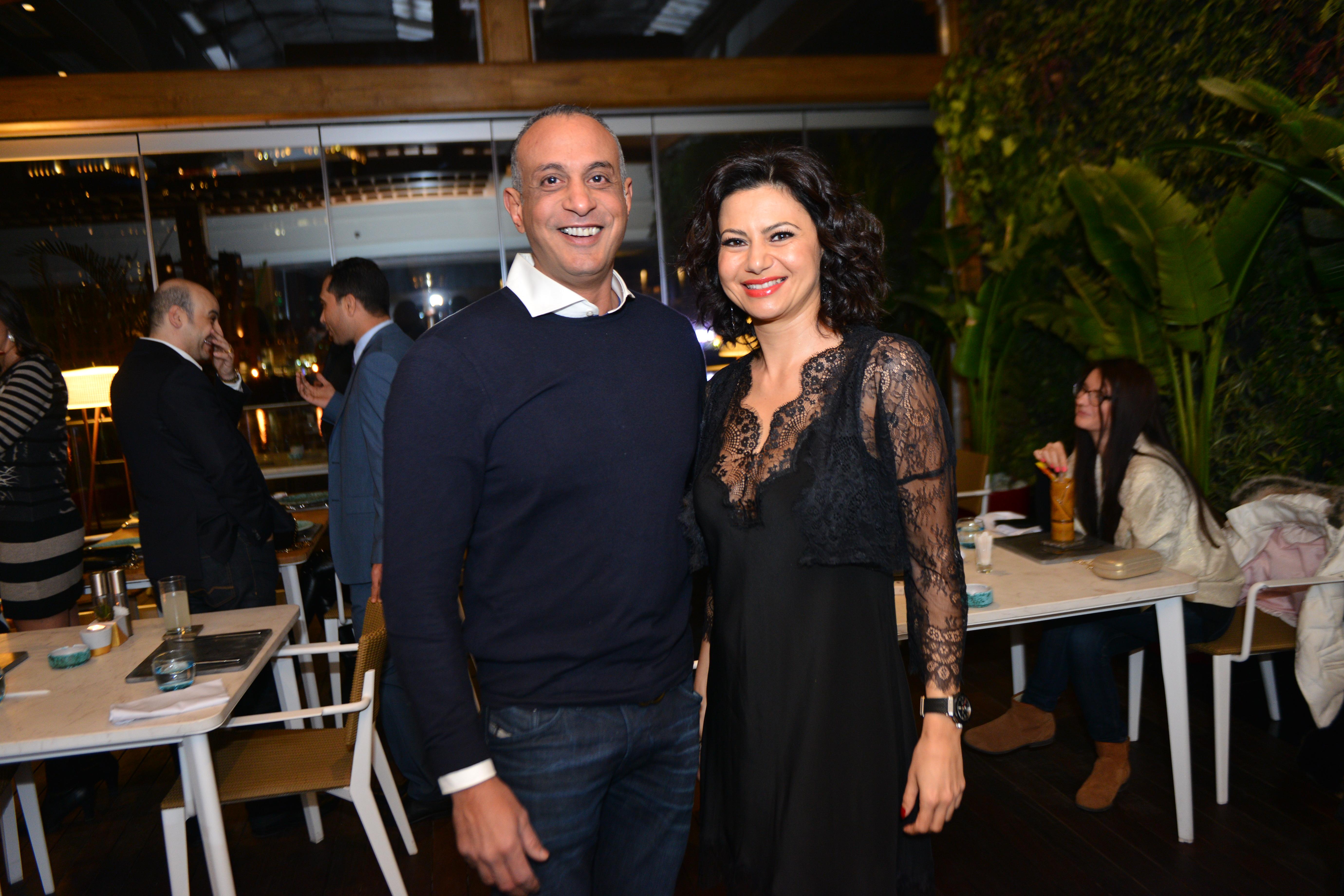 Mr. Sherif Elshafei & Ms. Nadia Saady