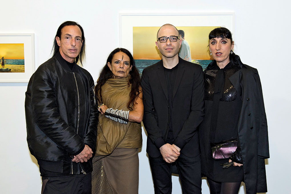 Mr.-Rick-Owens,-Ms.-Michele-Lamy,-Mr.-Youssef-Nabil-&-Mr.-Rossy-De-Palma