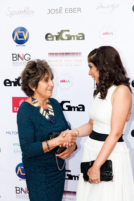 Mrs.-Suad-Cano-&-Mona-Zaki
