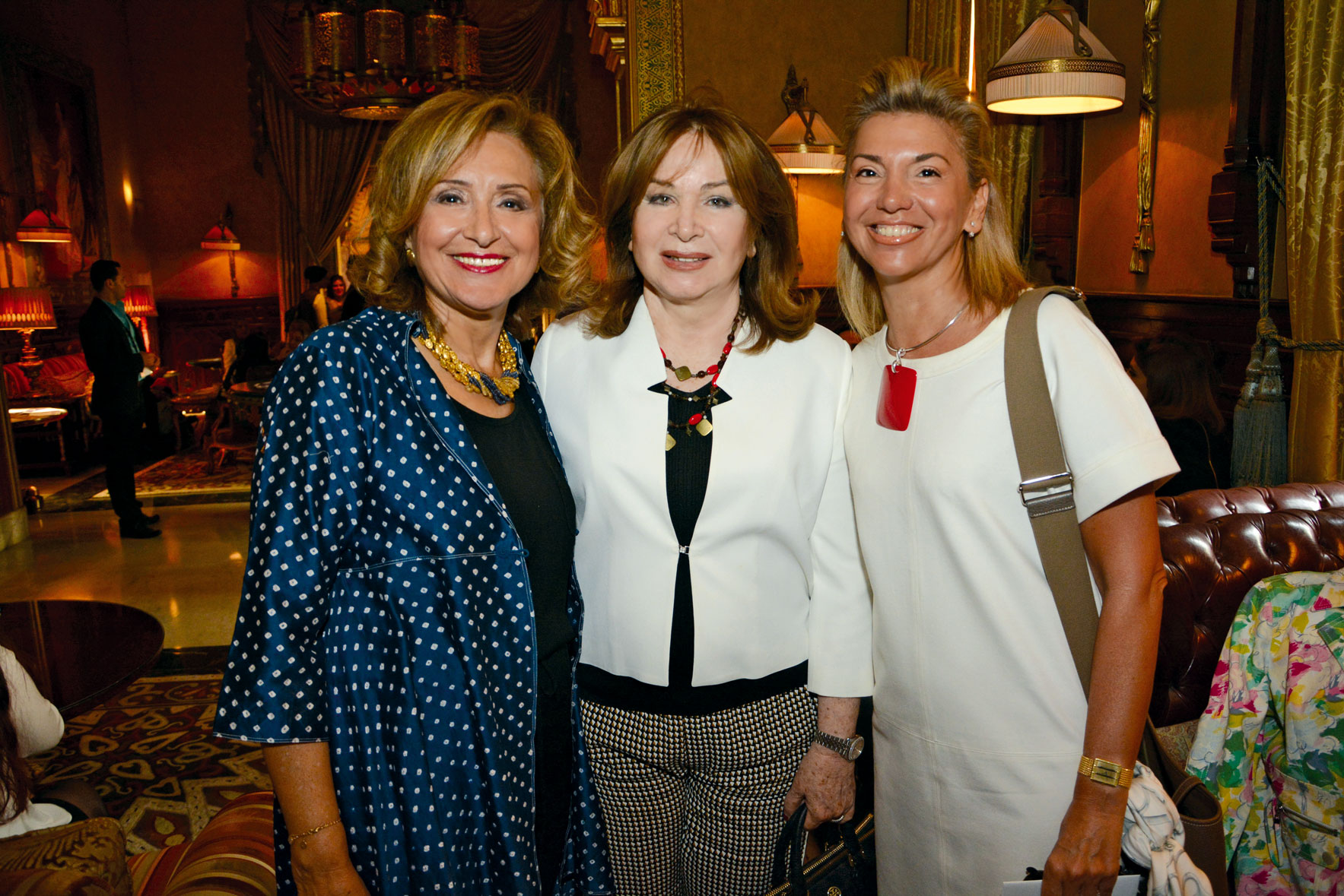 Ms. Samia Shihata, Ms. Nadia El Arabi & Ms. Rania Teymour