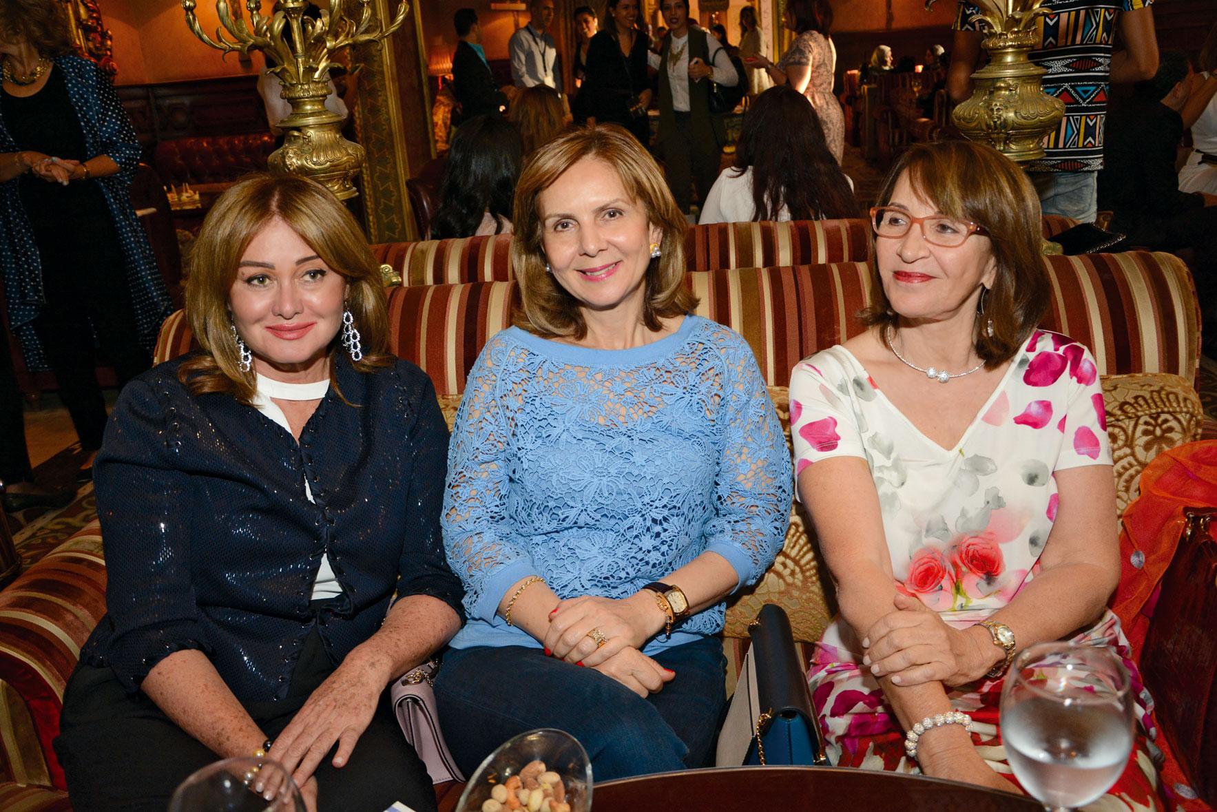 Ms. Ulvia Kamel,  Ms. Fifi Kamhawy &  Ms. Shadia Badreldin
