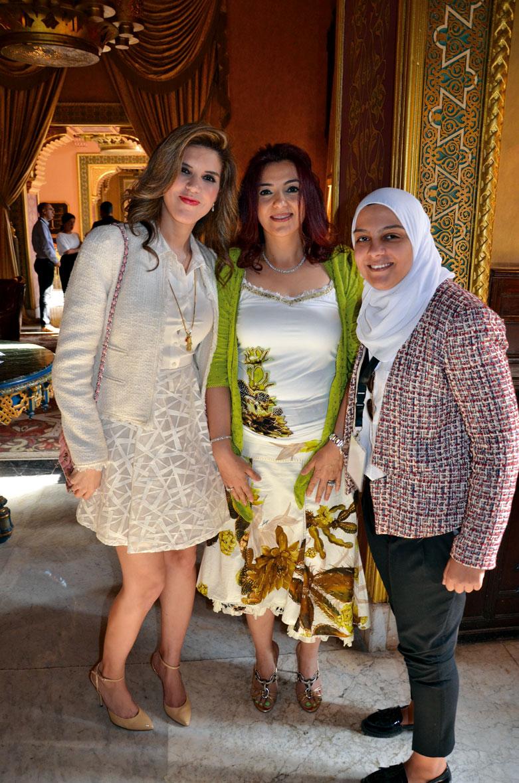 Ms. Yasmine Shihata, Ms. Hala Shiha &  Ms. Omnia Zaied
