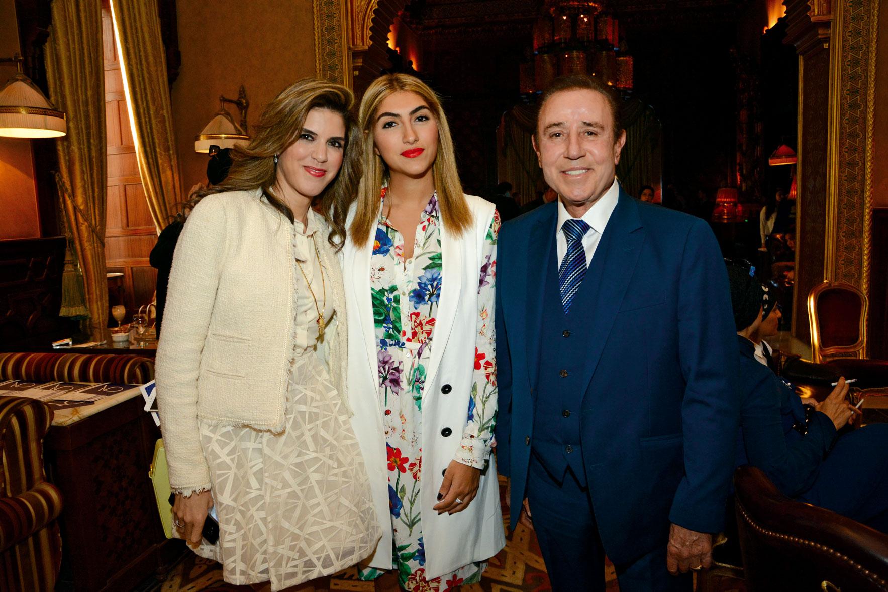 Ms. Yasmine Shihata,  Ms. Heba Serag El Din & Dr. Zein Obagi