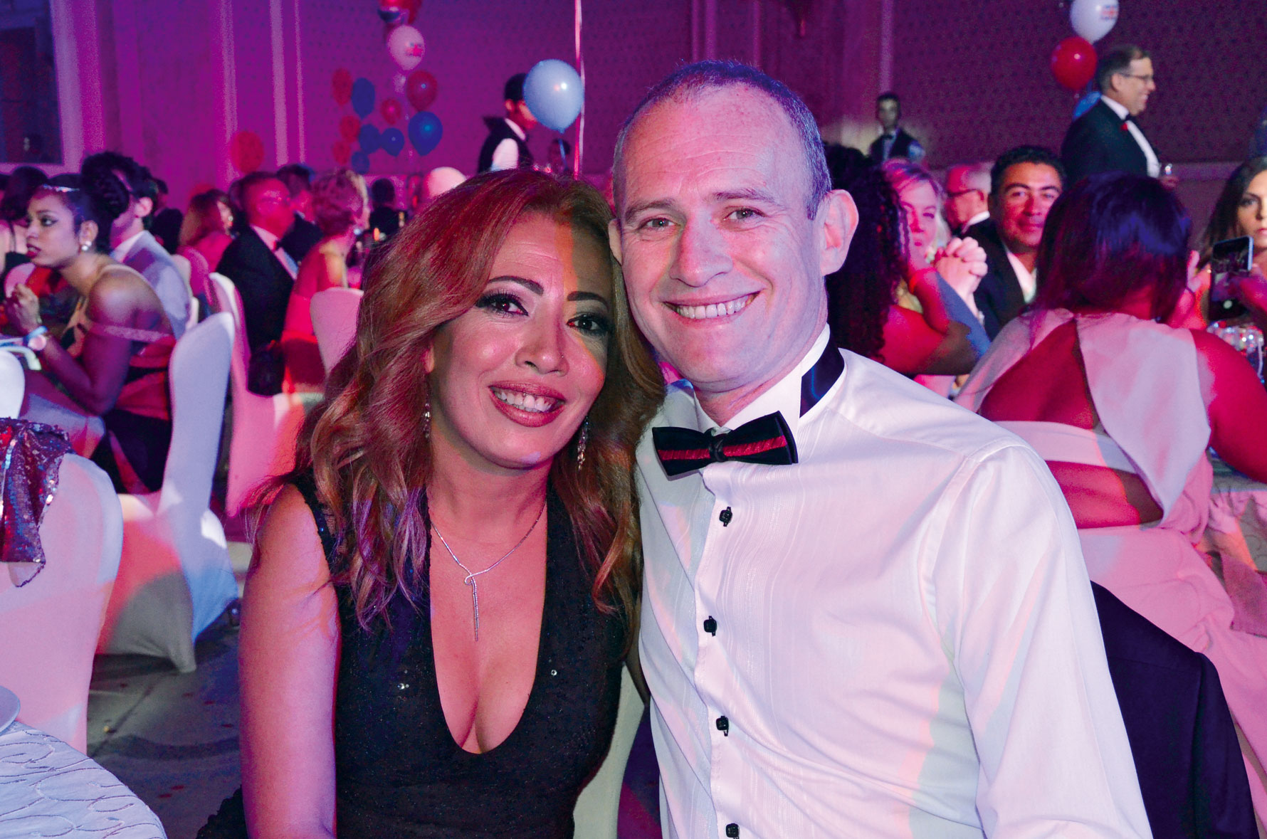 Ms. Rania El Adl &  Mr. Chris Thomas