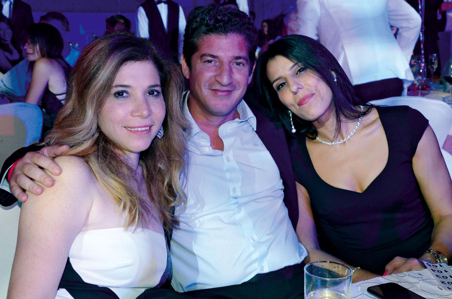 Ms. Nada Husseini,  Mr. Amr Shawarby &  Ms. Hoda Madfai