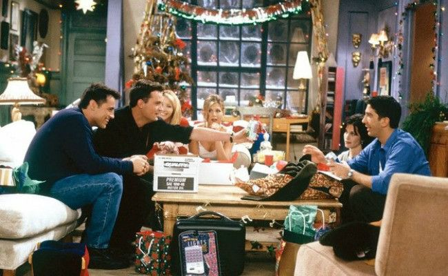 """Friends"""" Christmas/New Year's Episodes"""