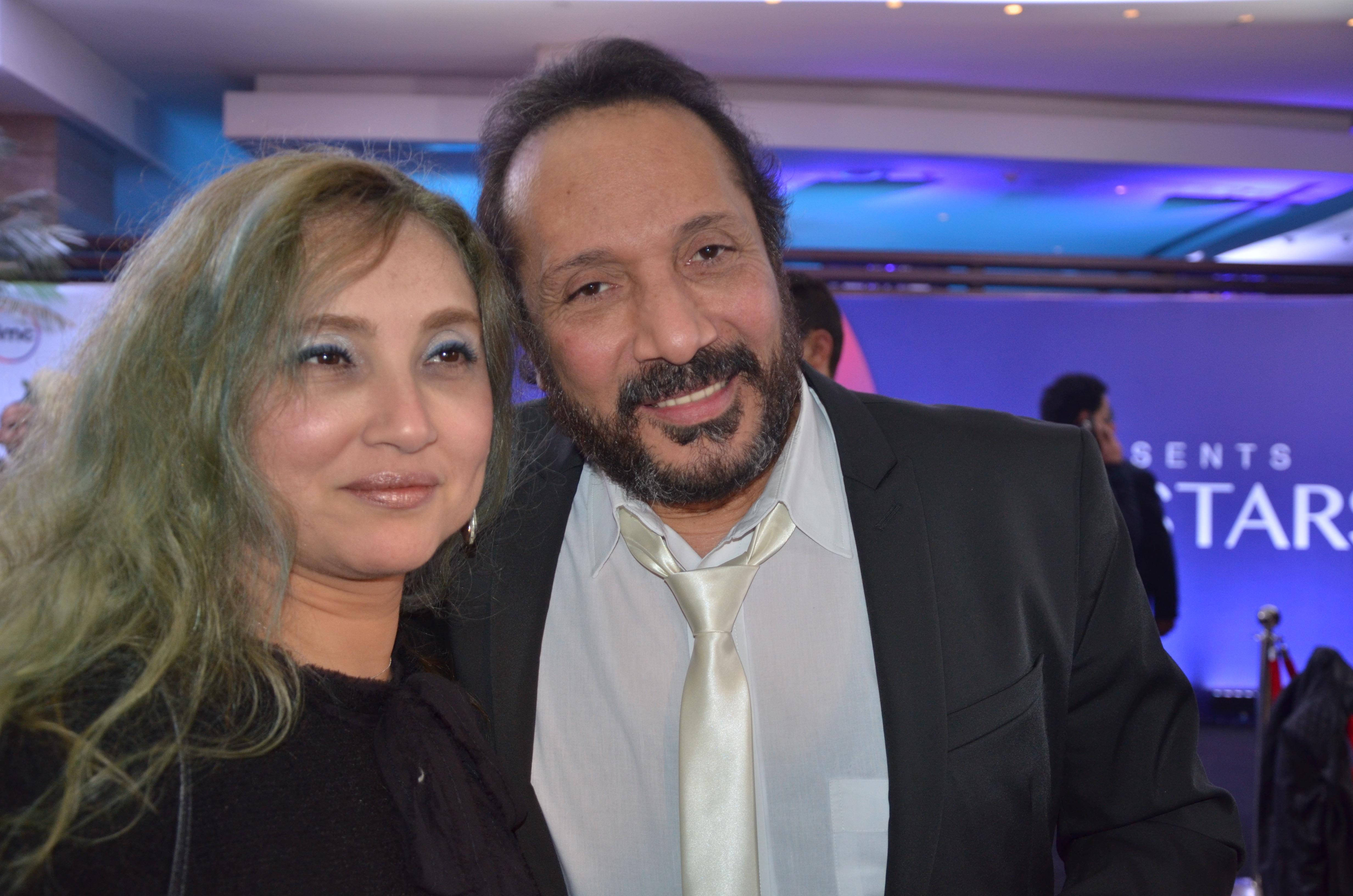 Ali El Haggar and his wife