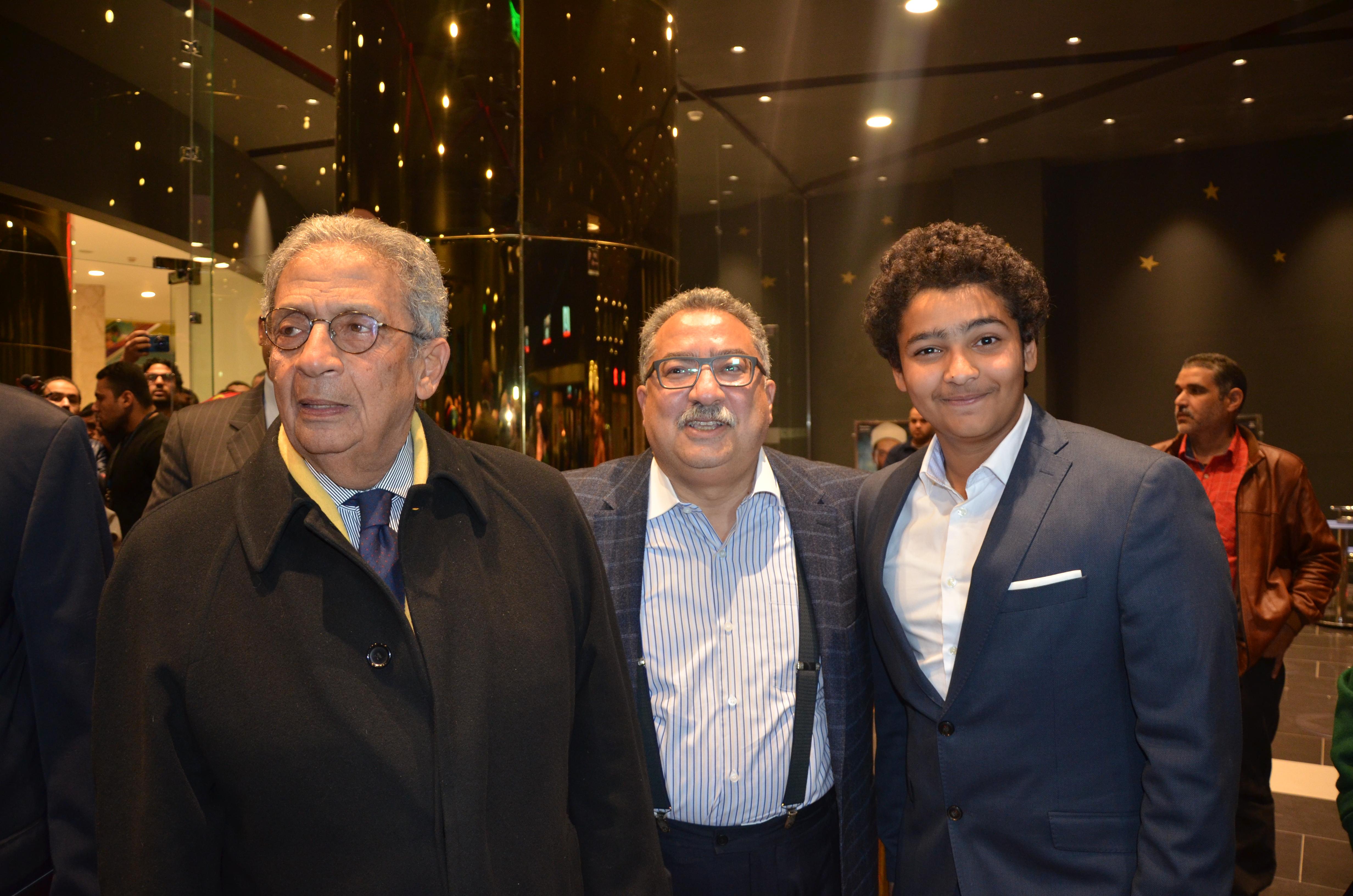 Amr Moussa, Ibrahim Eissa & Yehia Eissa