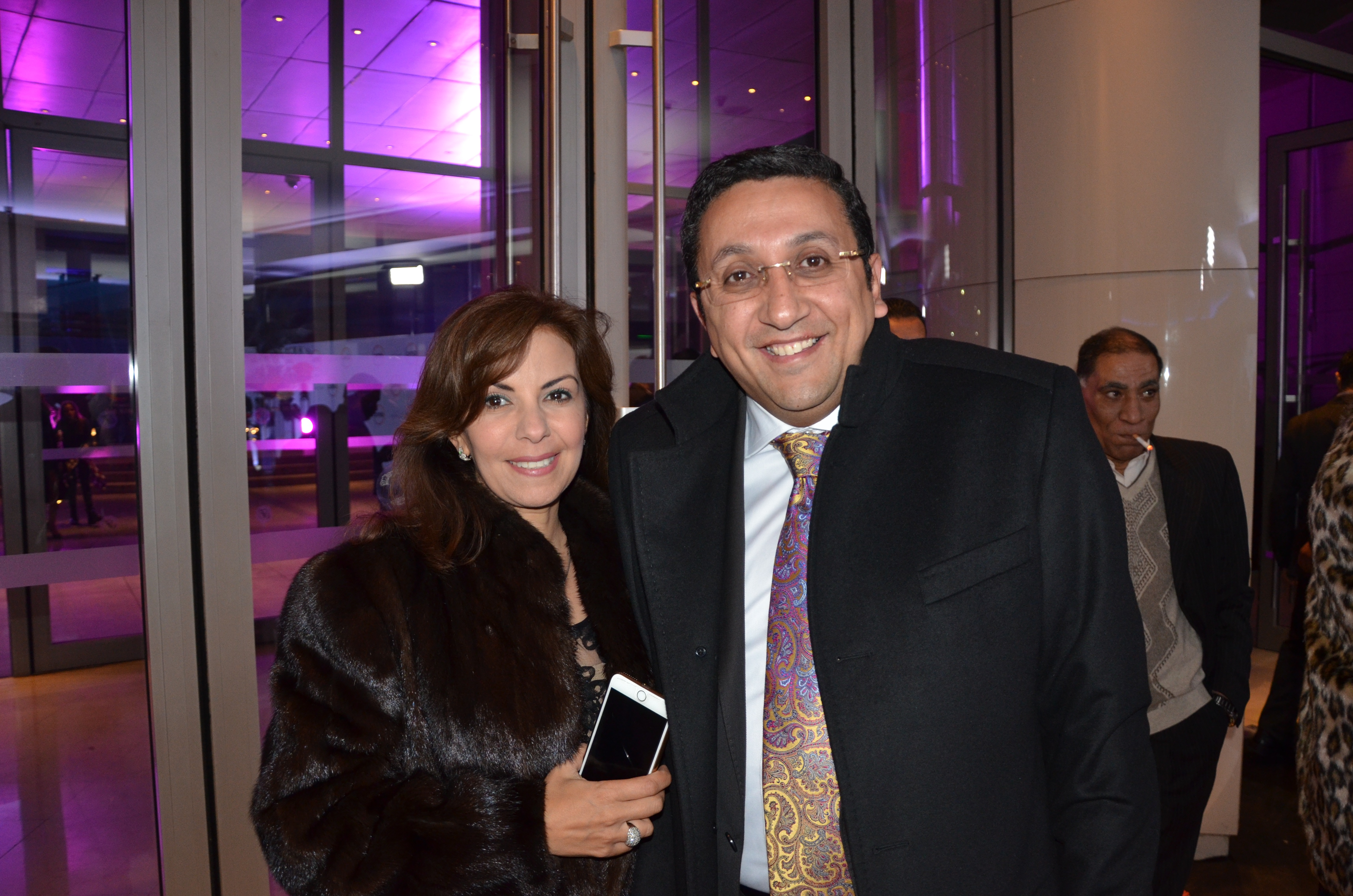 Dr. Ehab Ramzy and his wife