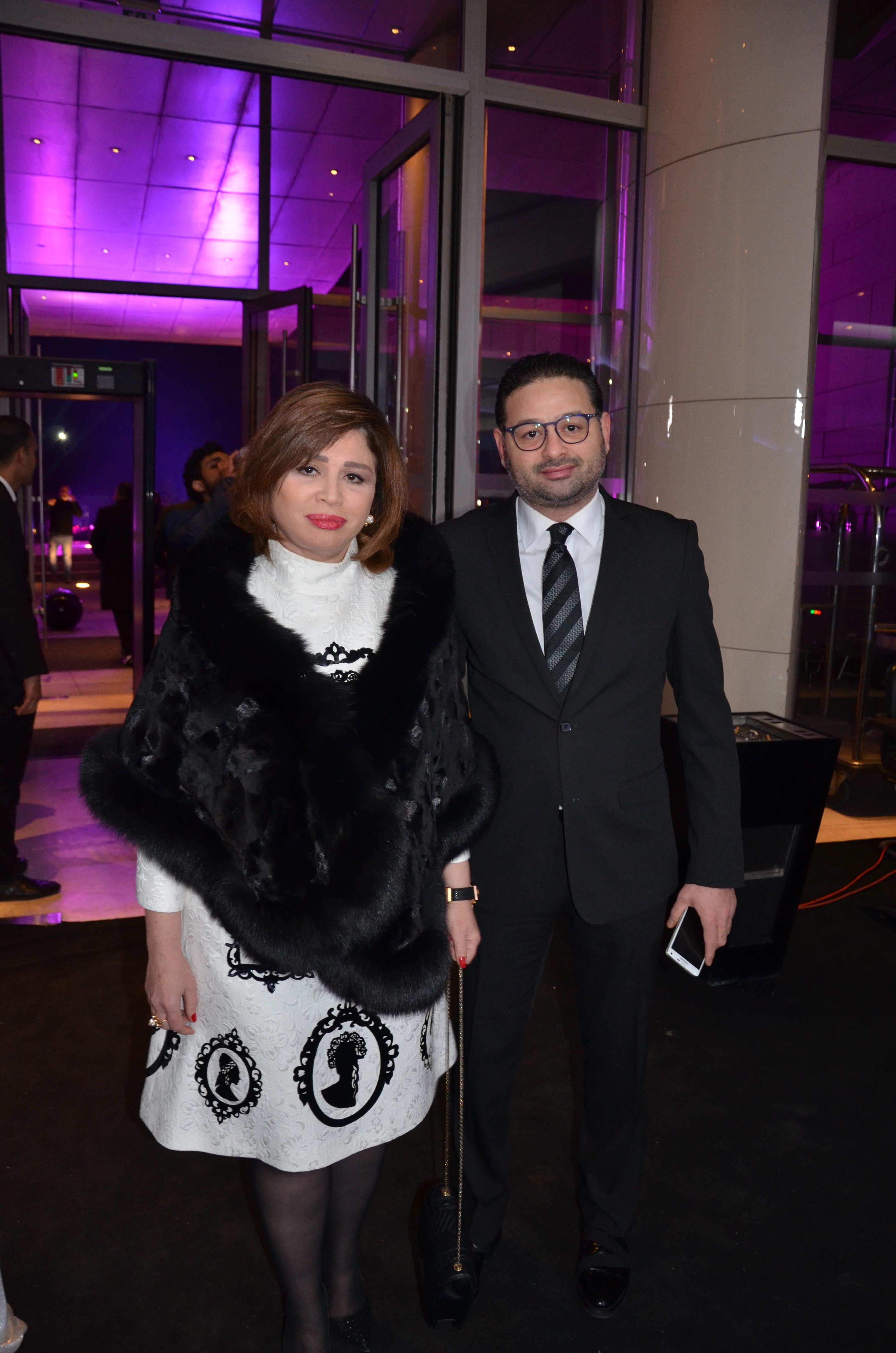 Elham Shaheen and her brother, Amir Shaheen