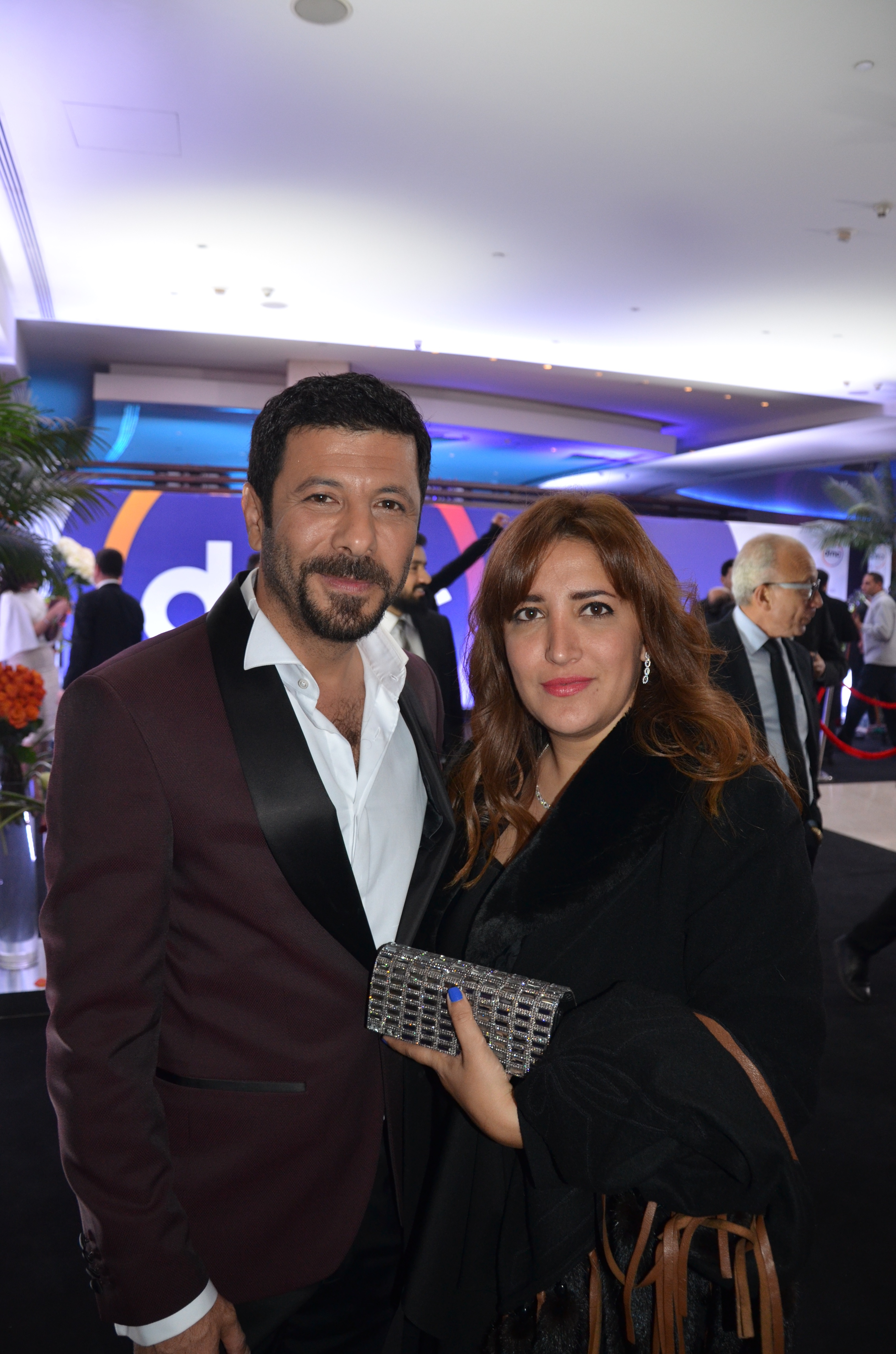 Eyad Nassar and his wife