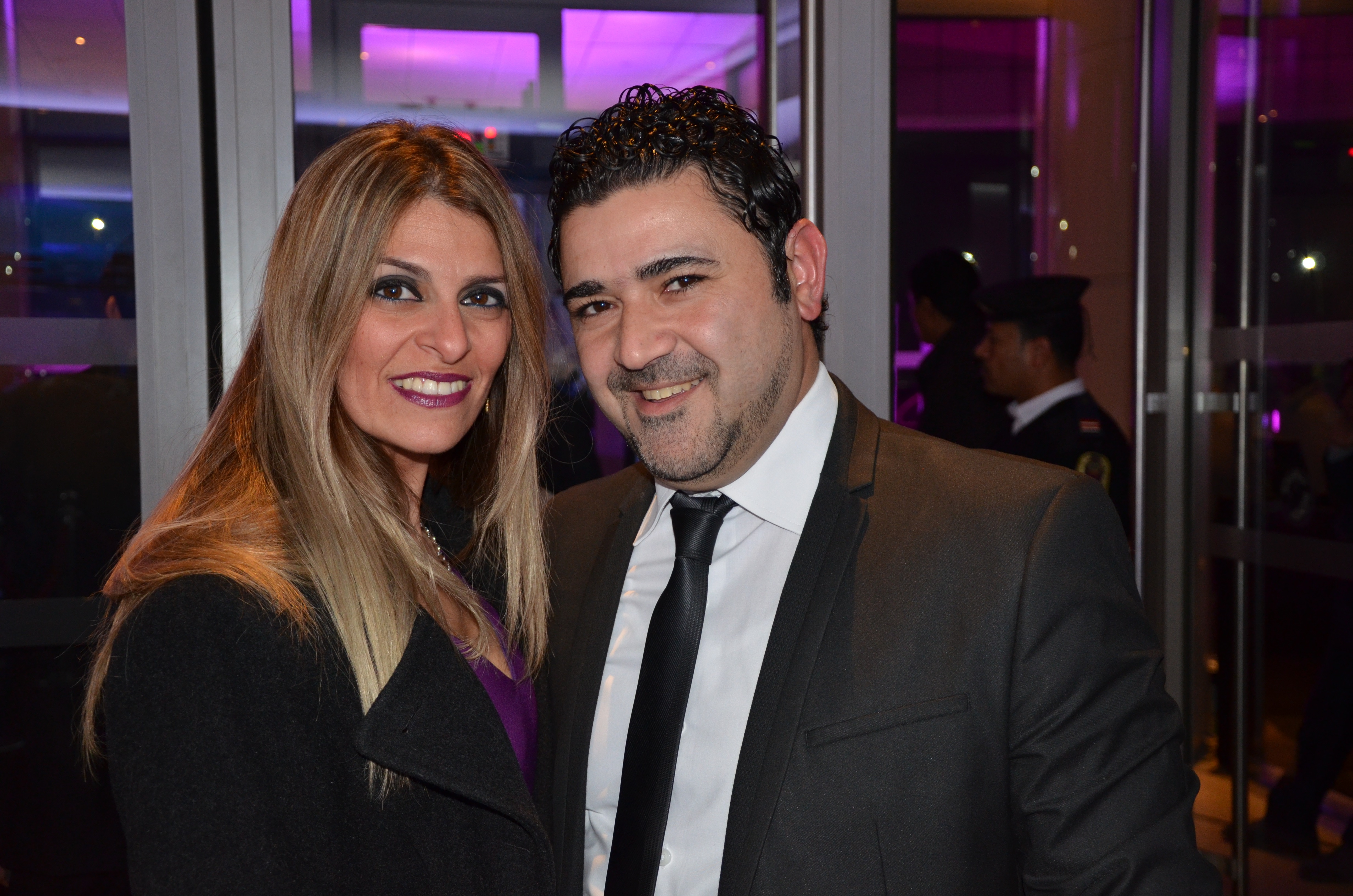 Fady Cotta and Alice Wakid