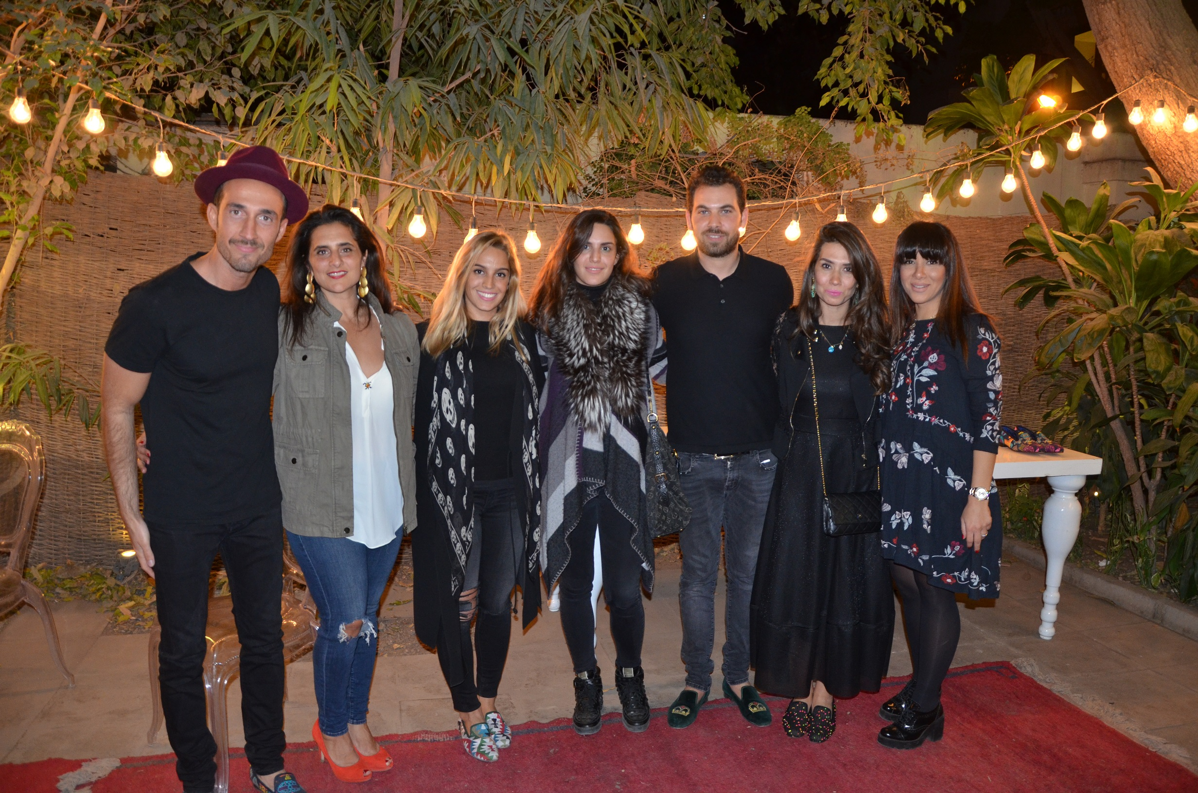 Khaled Makki, Nada Azzam, Sarah Mansour, Ayda Mansour, Ahmed Makki, Hala Makki & Manal Abbas