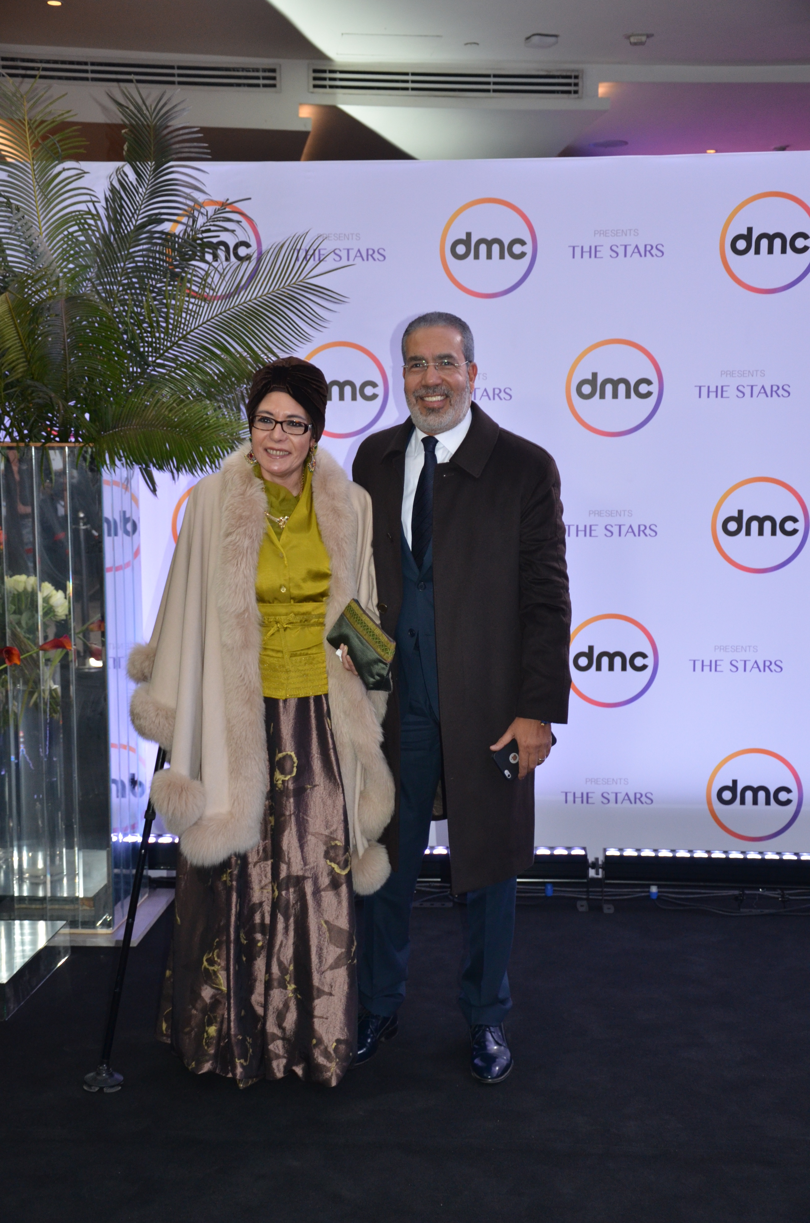 Medhat El Adly and his wife