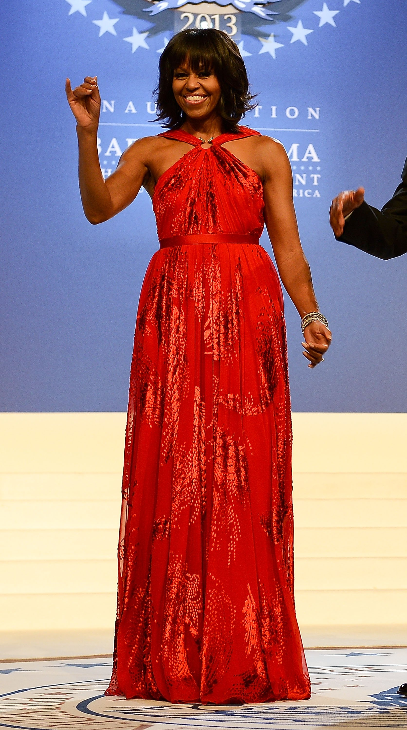 Michelle Obama in Jason Wu at the Inaugural Ball