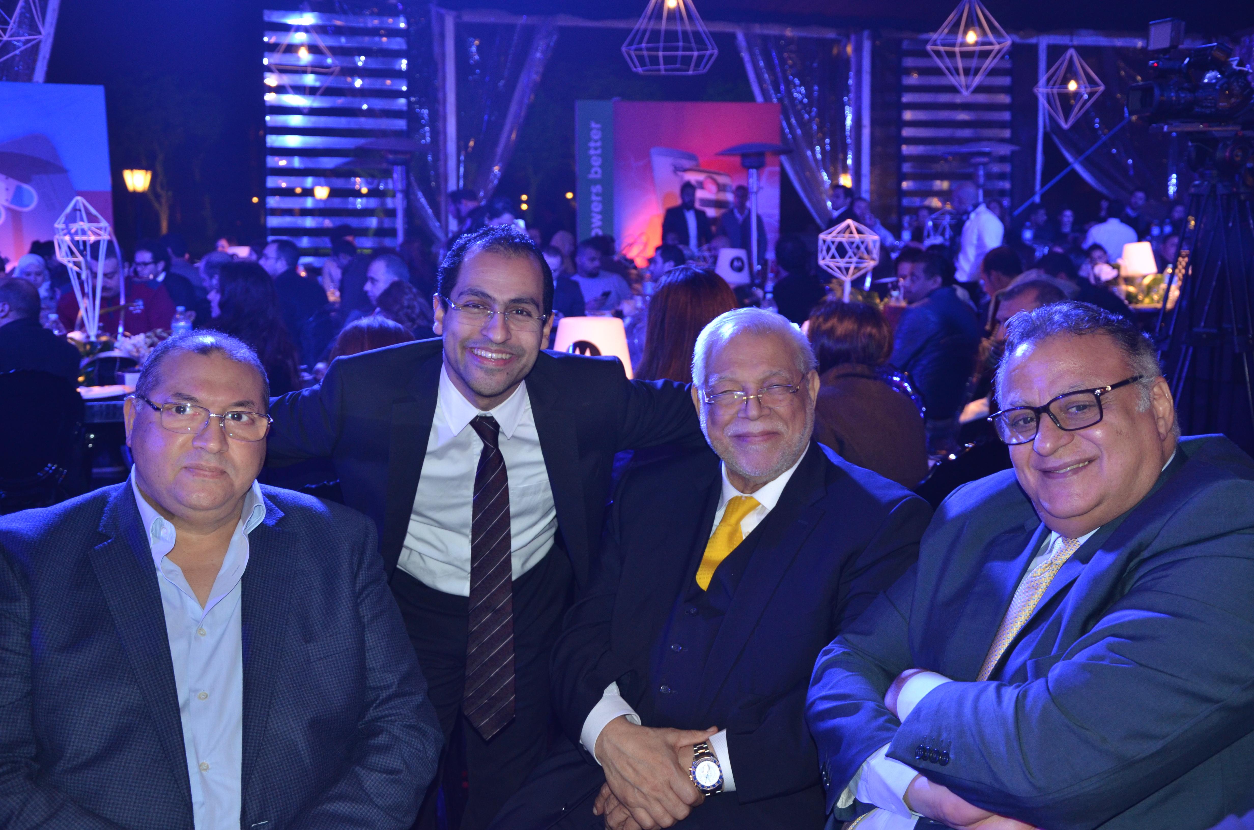 Mohamed Talaat, Sherif Salem, Aly Fouad, Gamil Roushdy