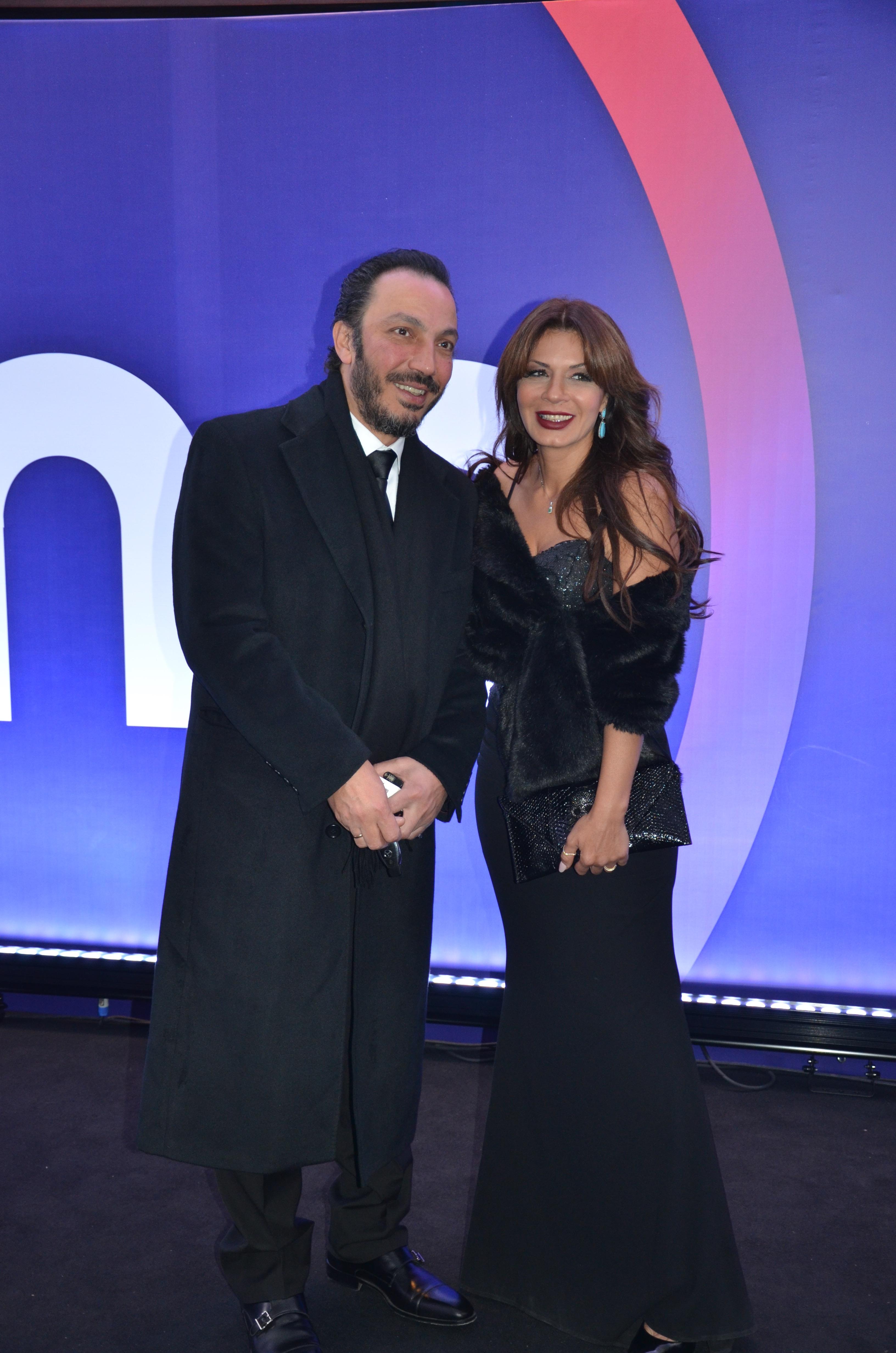 Tarek Lotfy and Naglaa Badr