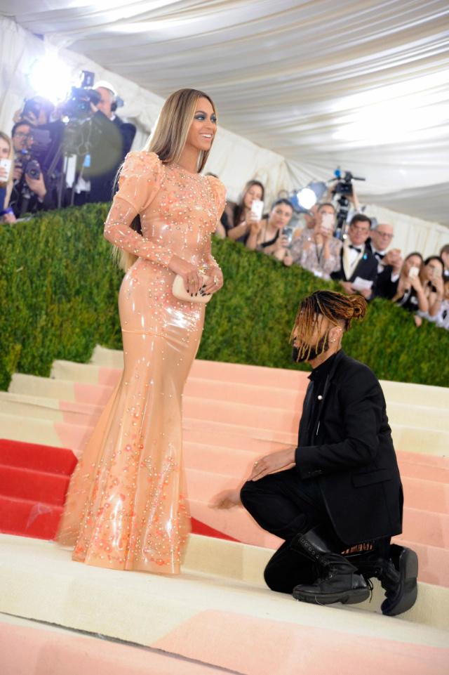 Ty Hunter and Beyoncé