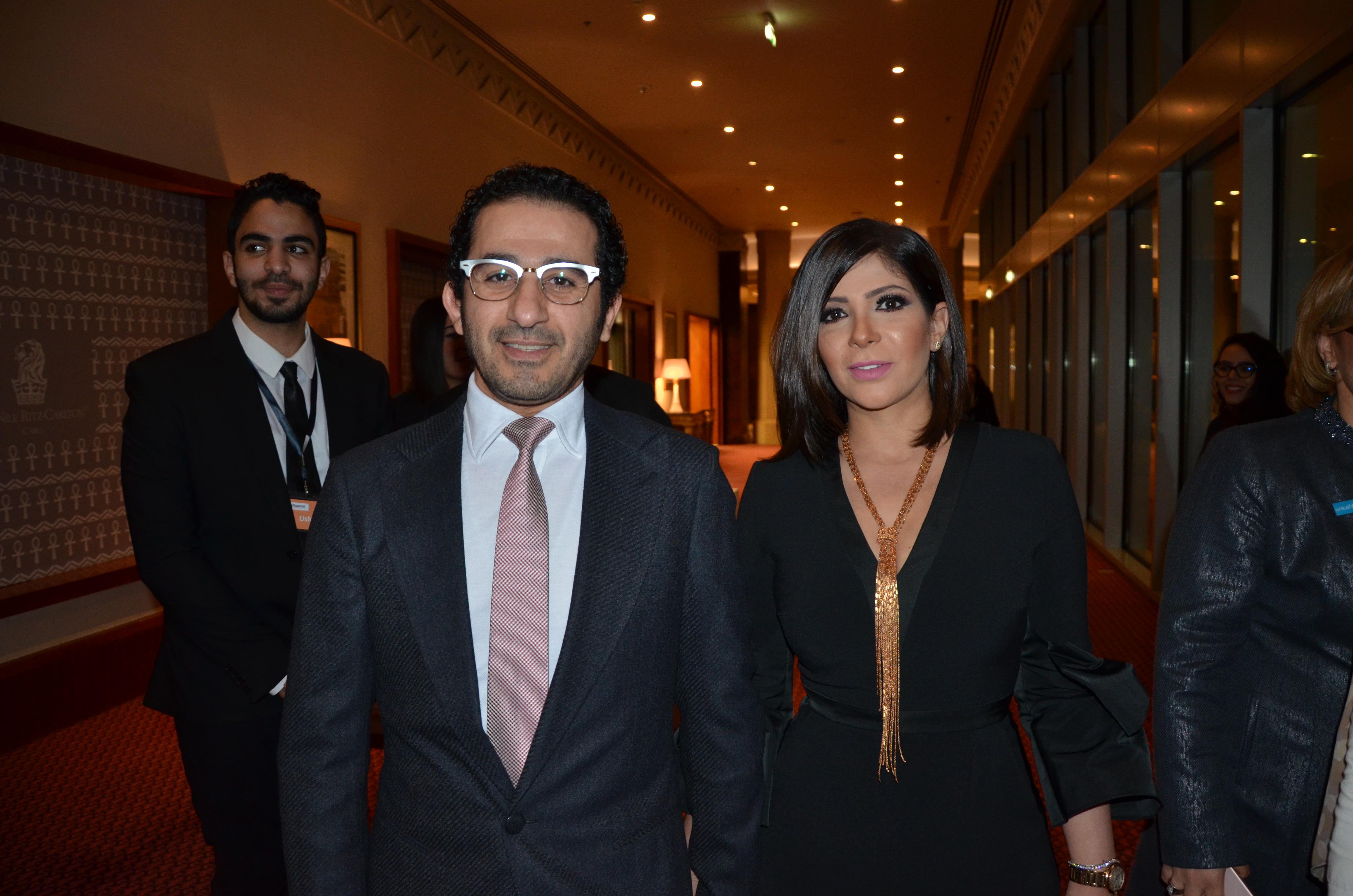 Ahmed Helmy & Mona Zaki