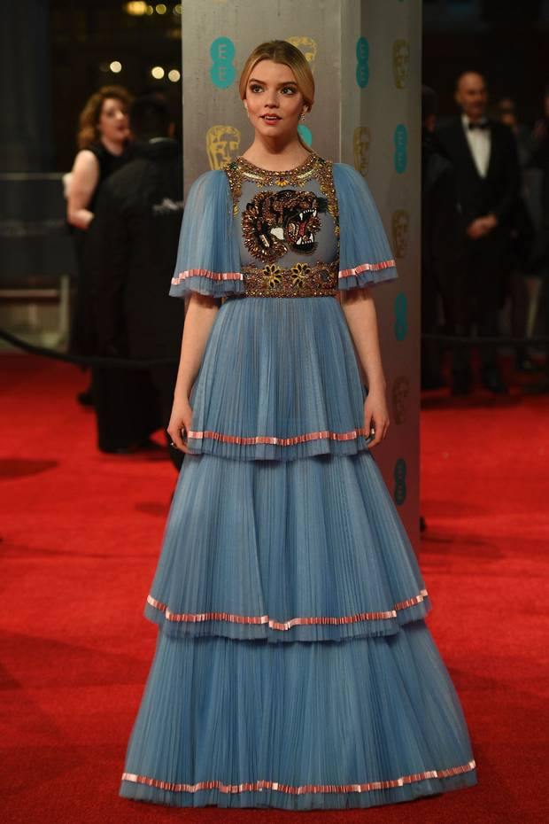 Anya Taylor-Joy in Gucci