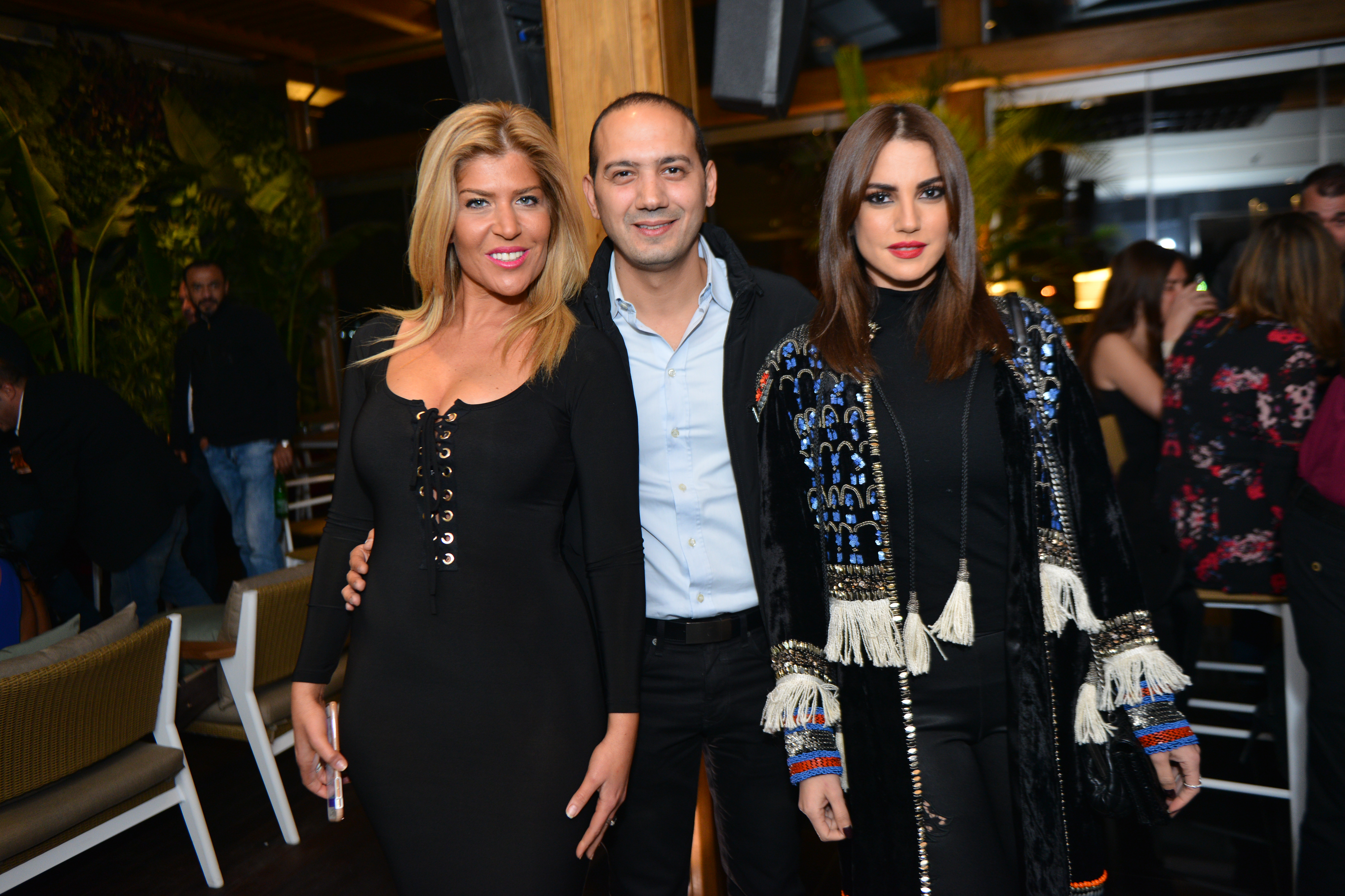 Ms. Caroline Simolian, Mr. Amr Assem & Dorra