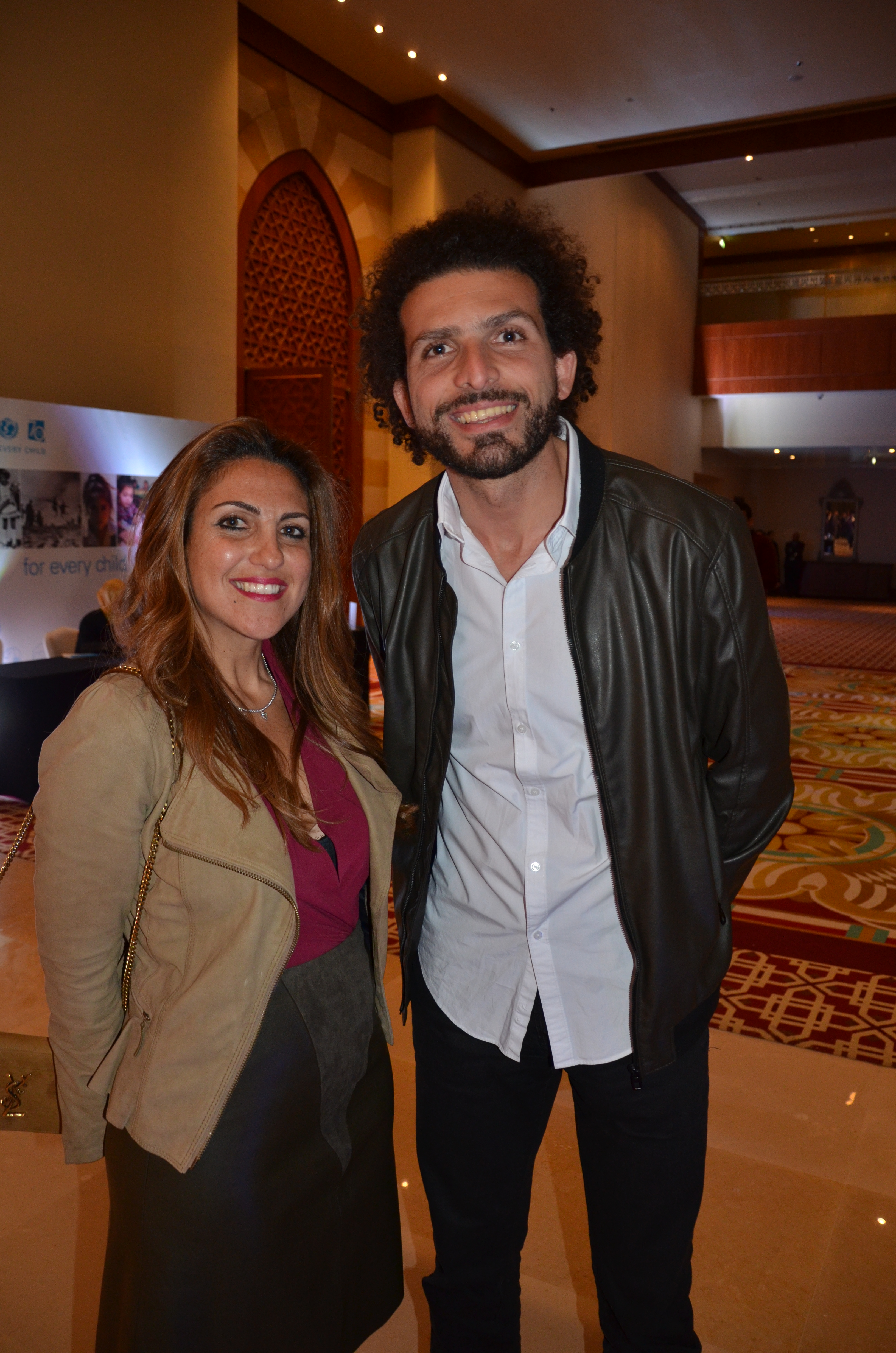 Ms. Dina El-Mofty & Mr. Omar Samra