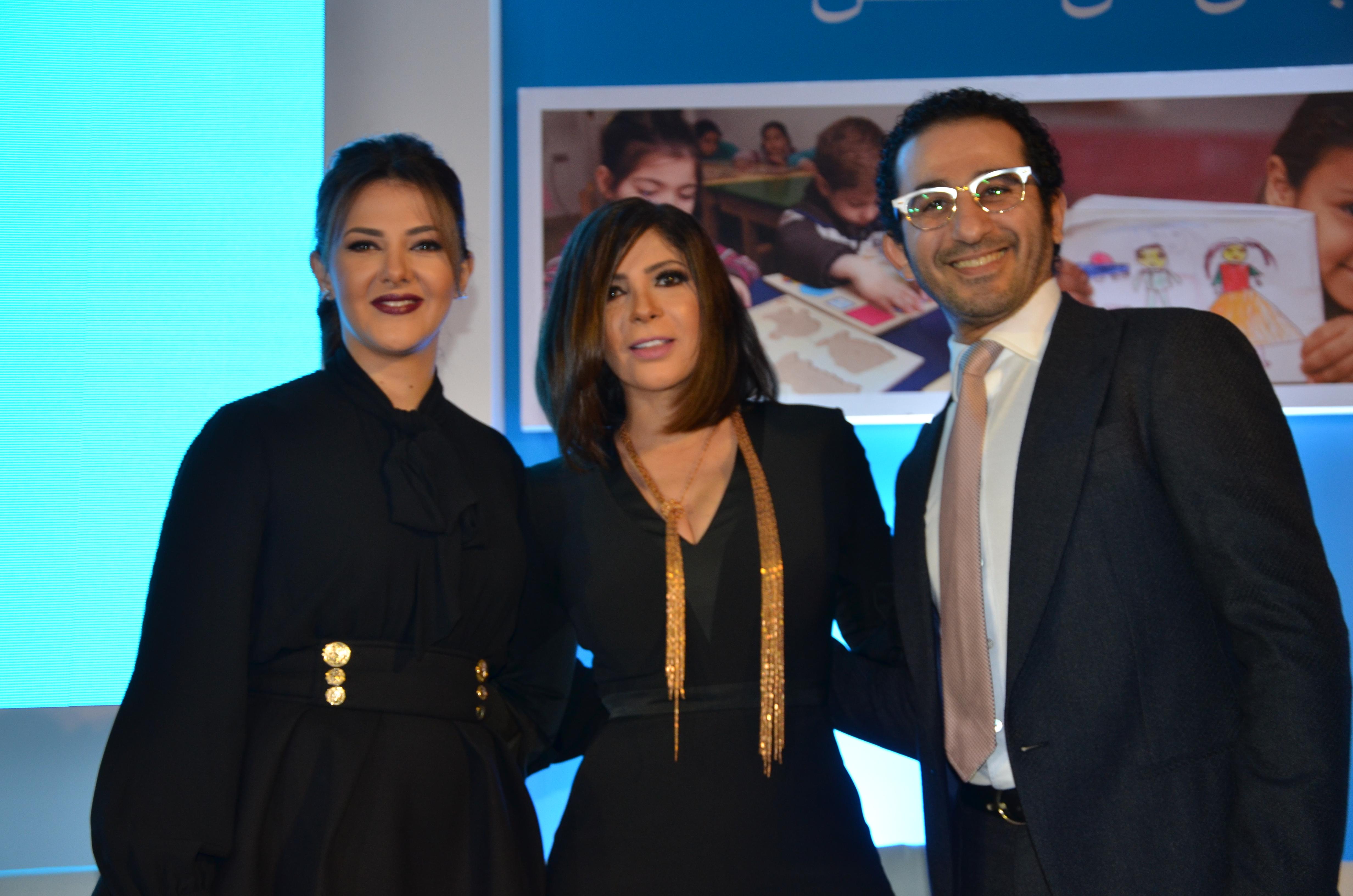 Donia Samir Ghanem, Mona Zaki & Ahmed Helmy