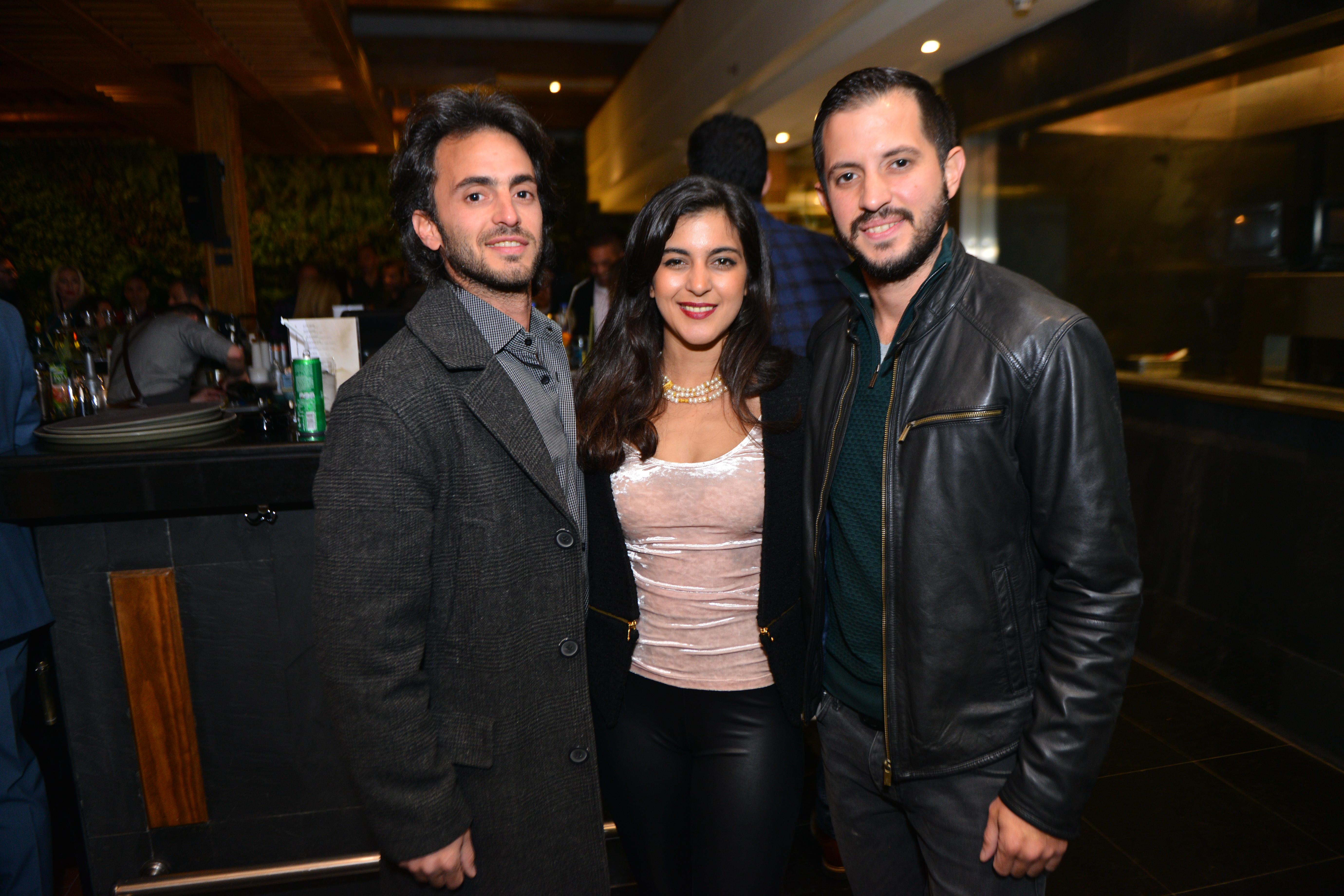 Mr. Karim, Ms. Jaida & Mr. Shehab Badawi