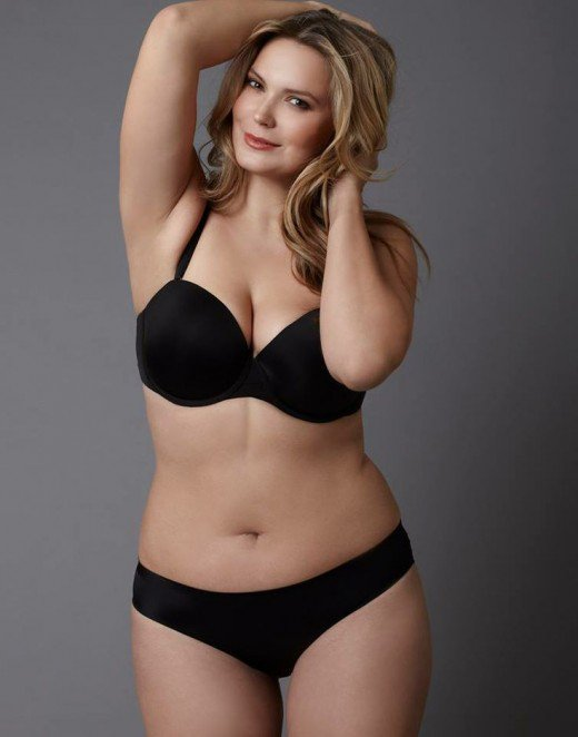 the hottest plus-size models - enigma