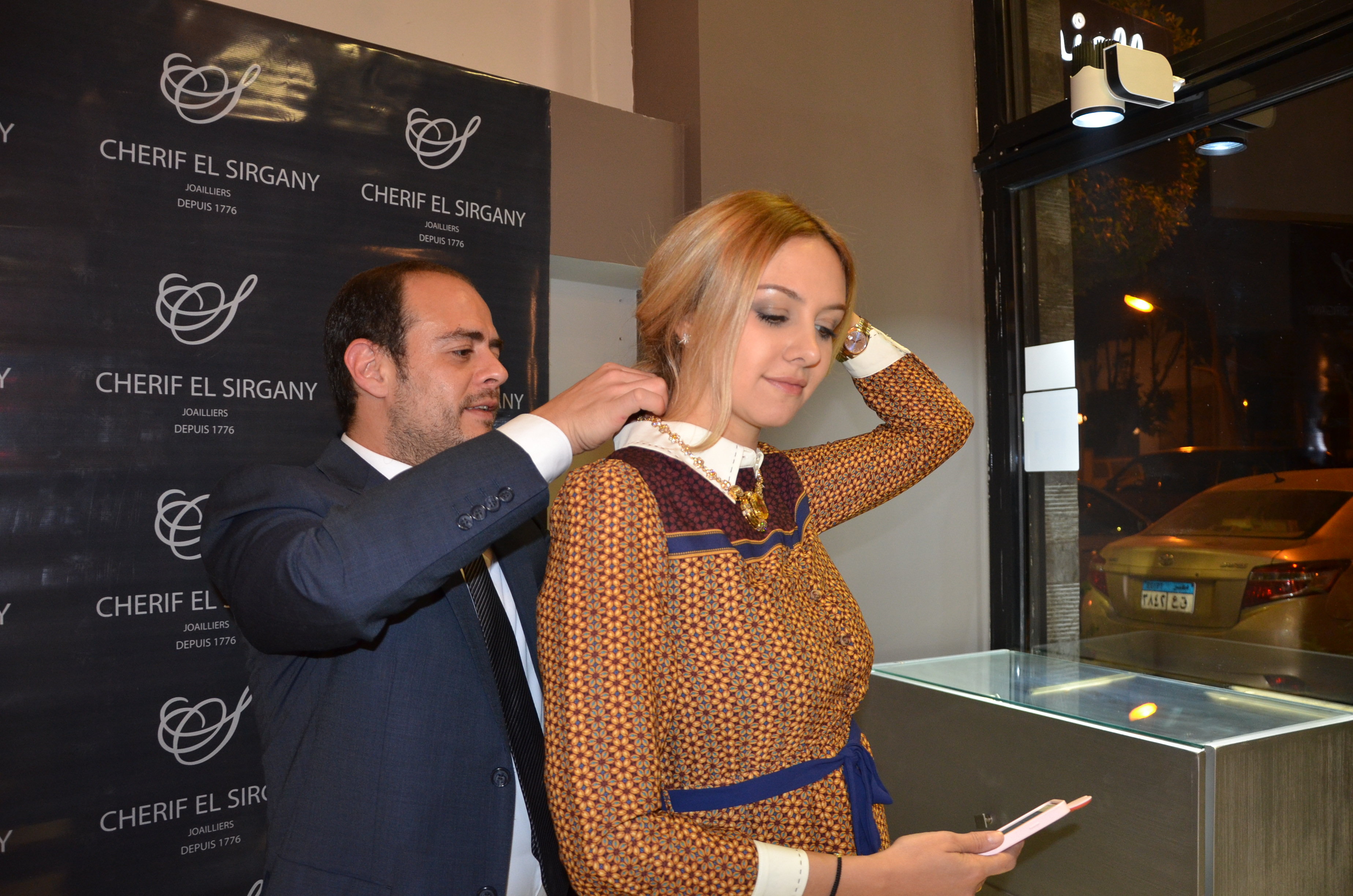 Mr. Mahmoud El Sirgany & Ms. Nour Aboulela