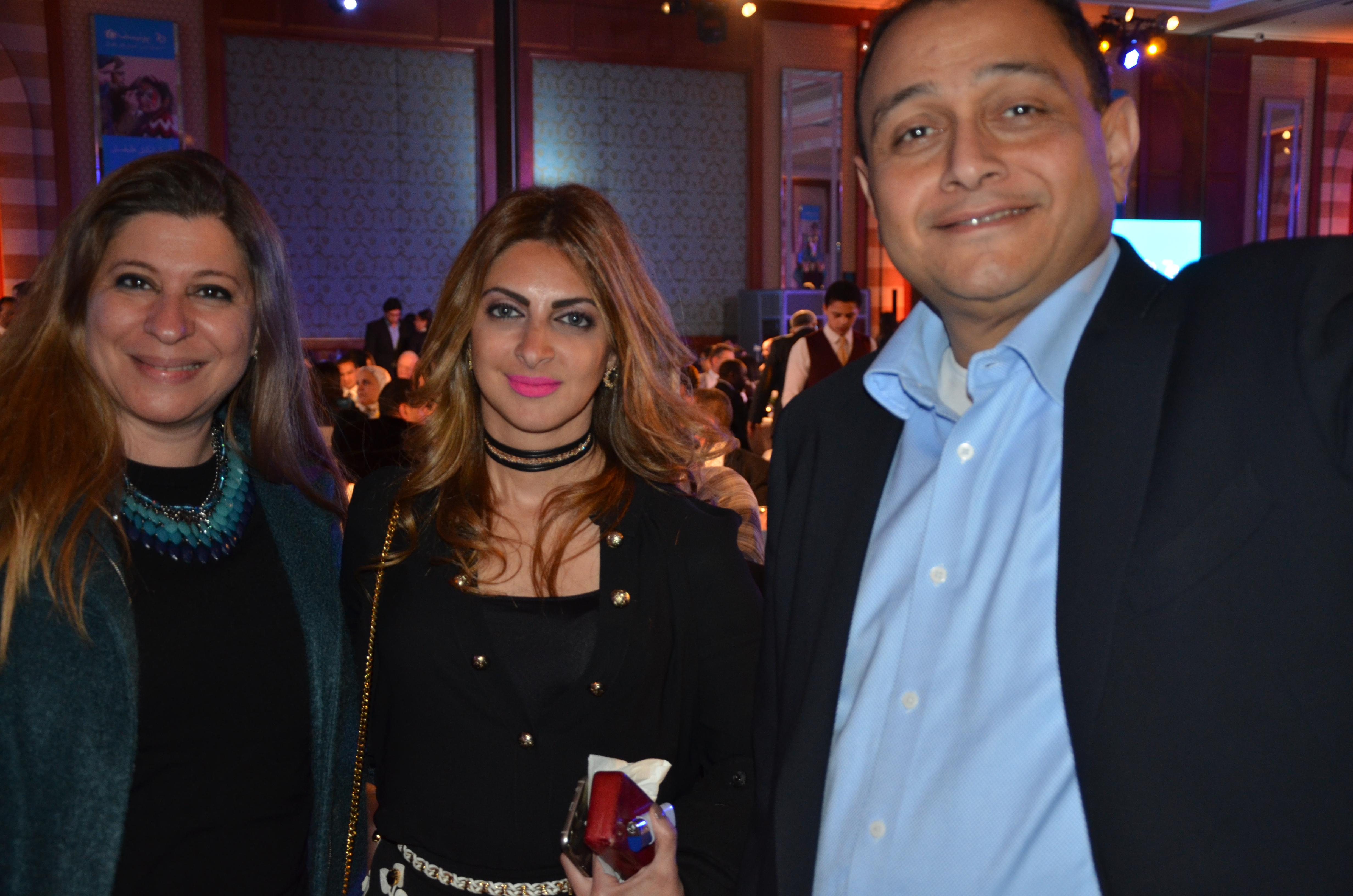 Ms. Noha Saad, Ms. Heba El Sewedy & Mr. Ashraf Haridy