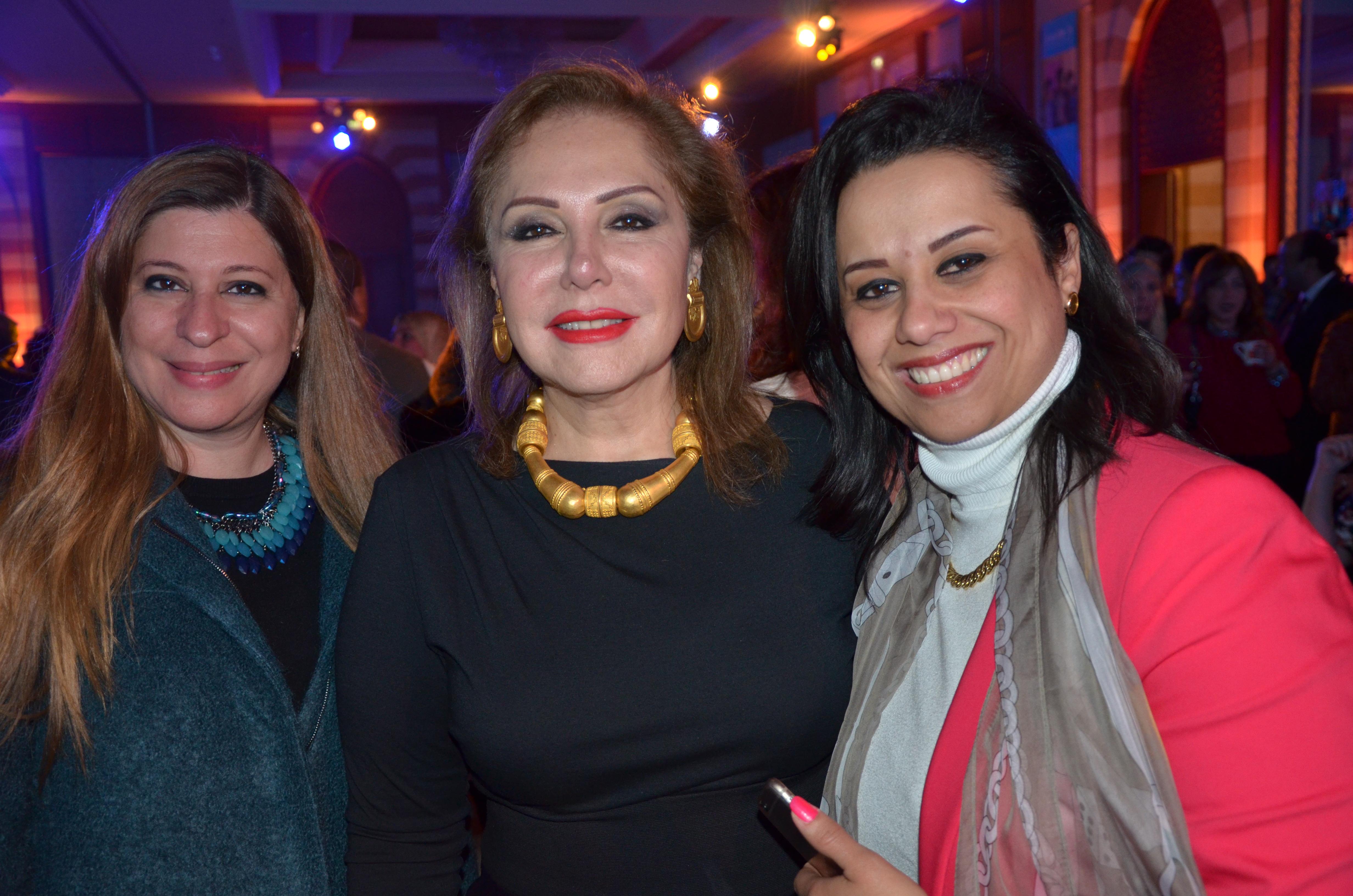 Ms. Noha Saad, Ms. Mayan Raslan & Ms. Hala Abdel-Wadood