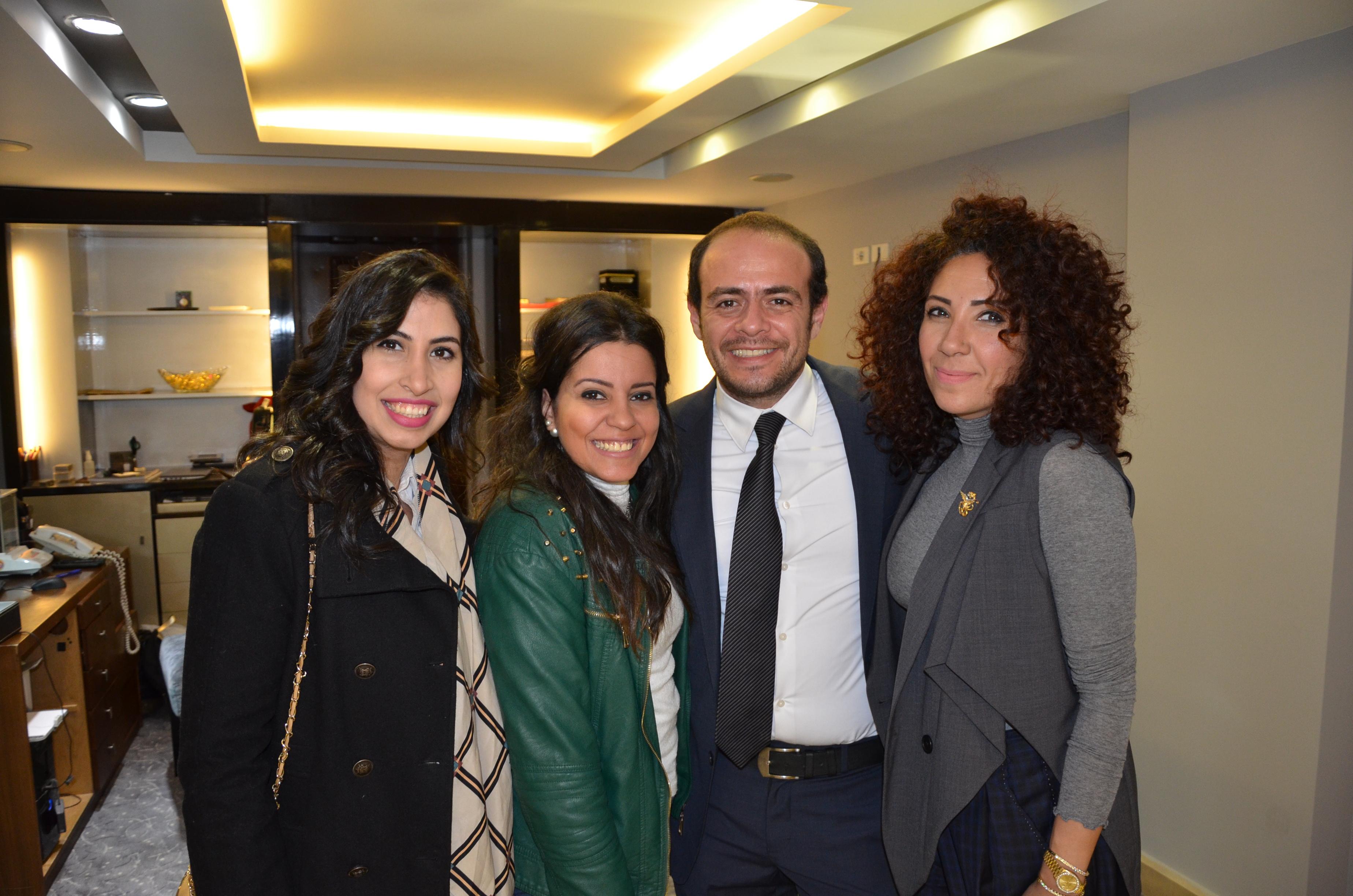 Ms. Passant Adel, Ms. Amira El Tohamy, Mr. Mahmoud El Sirgany & Ms. Marwa El Sirgany