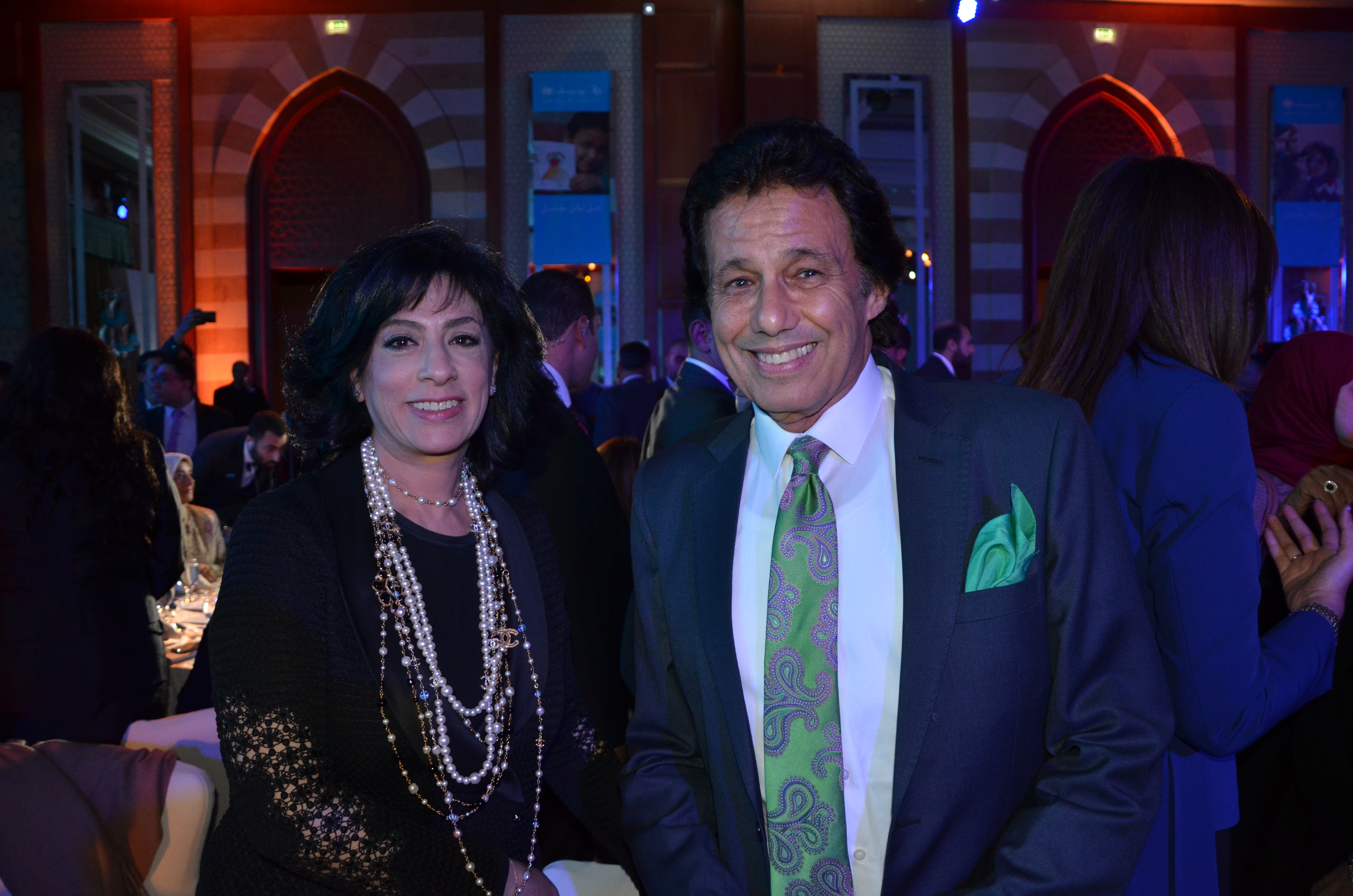 Ms. Randa Abul Azm & Mr. Ibrahim El-Kerdany