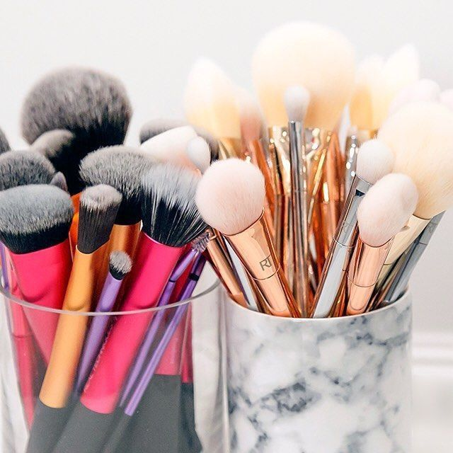 Only Makeup Brushes You Actually Need