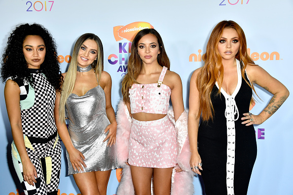 Little Mix definitely decided to mix things up. They got very mixed up about what's stylish and what isn't. Do you think they dressed each other? How can a whole group's outfits go so terribly wrong?