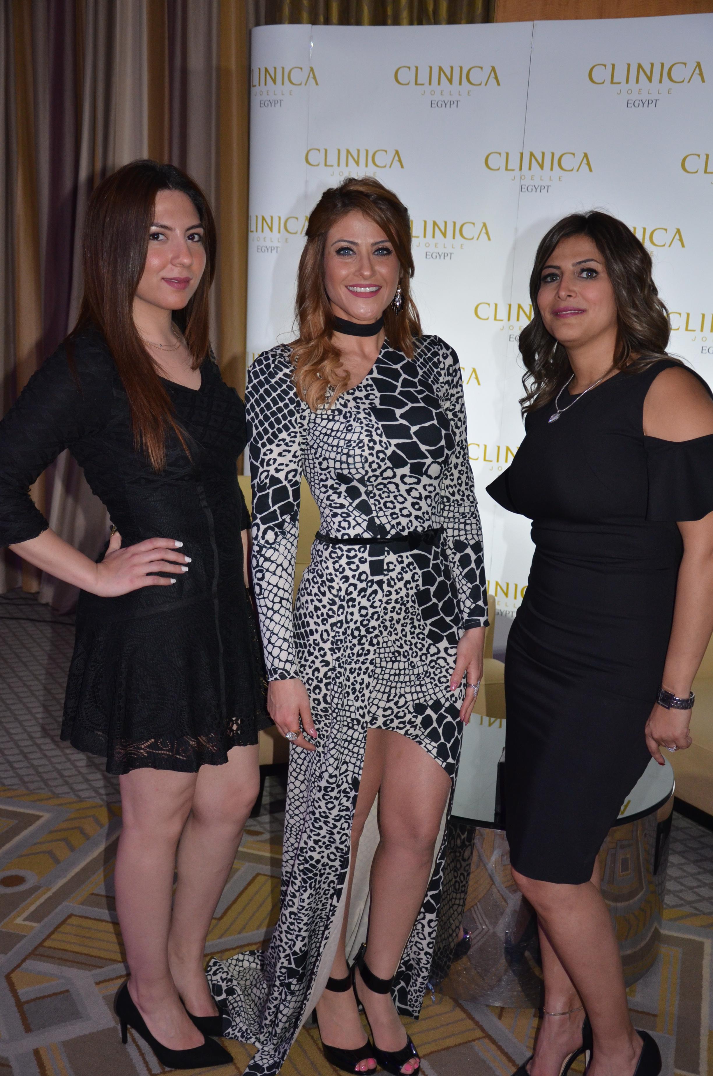 Ms. Poussy Hamed, Heidy Karam & Ms. Noha El Bahrawy