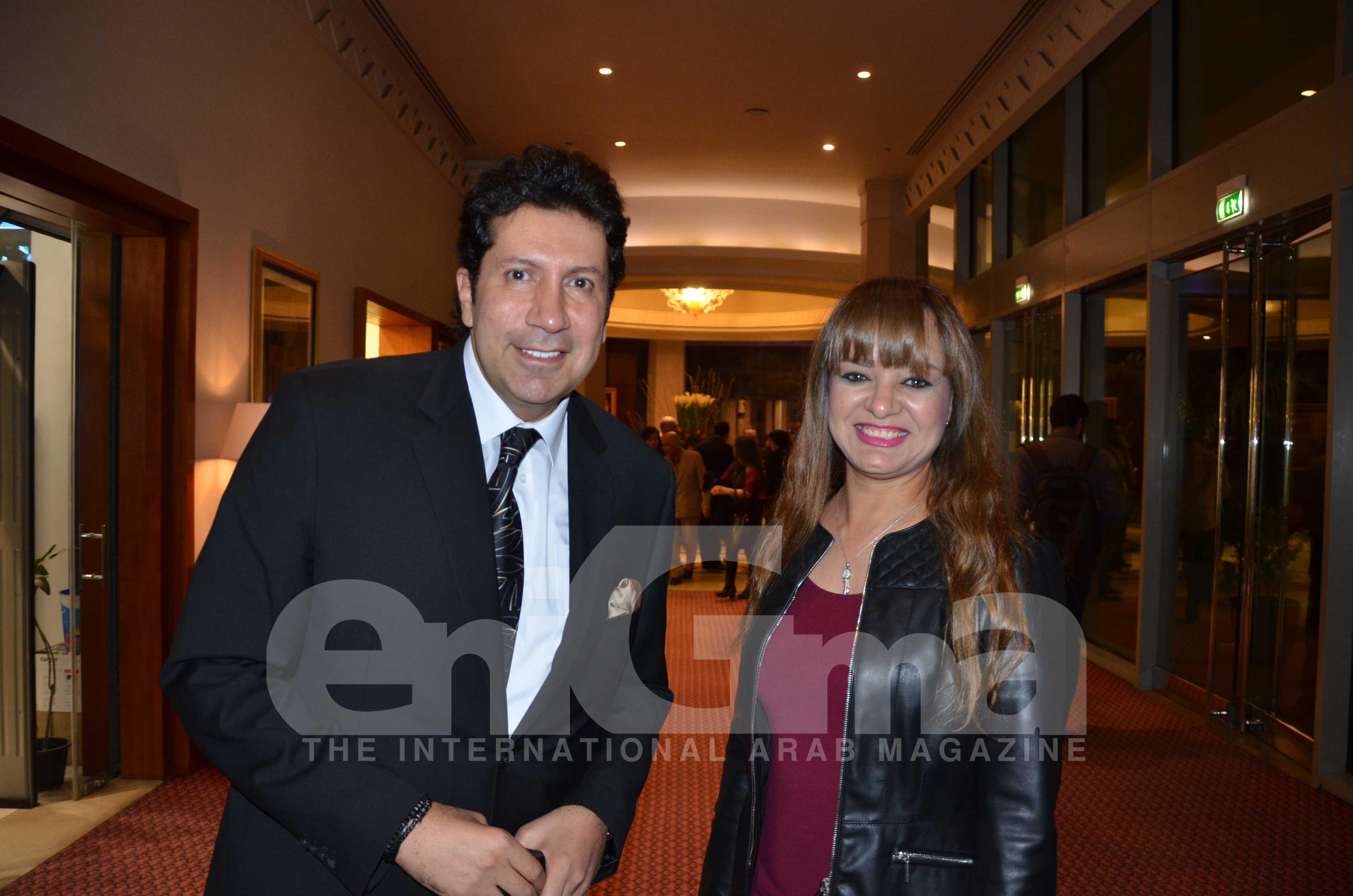 Hani Ramzi & Ms. Amal El Sayed