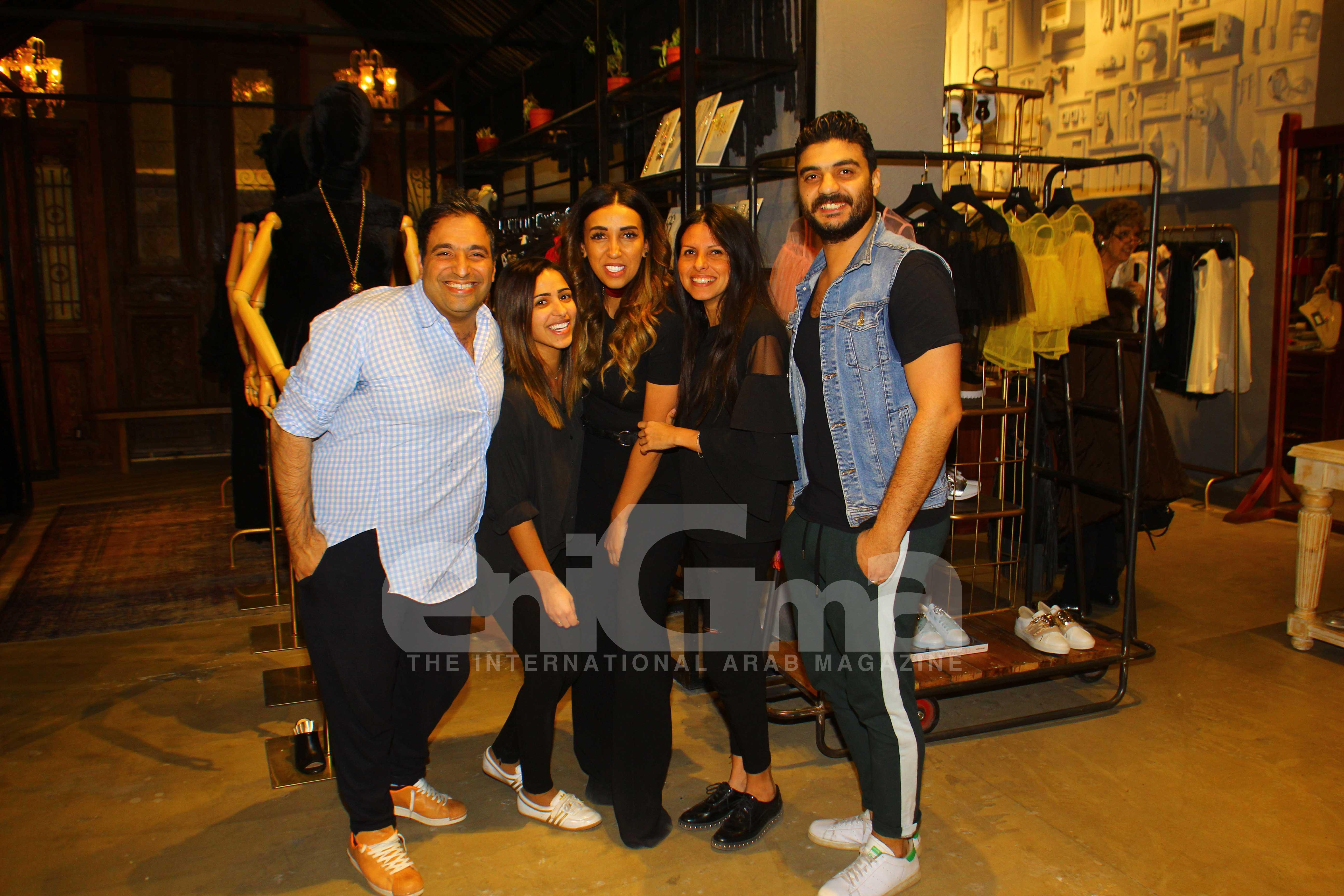 Mr. Amir El Fayoumi, Ms. Dalia Bakr, Ms. Ekram Abed, Ms. Sara Habib & Mr. Shady El Refai