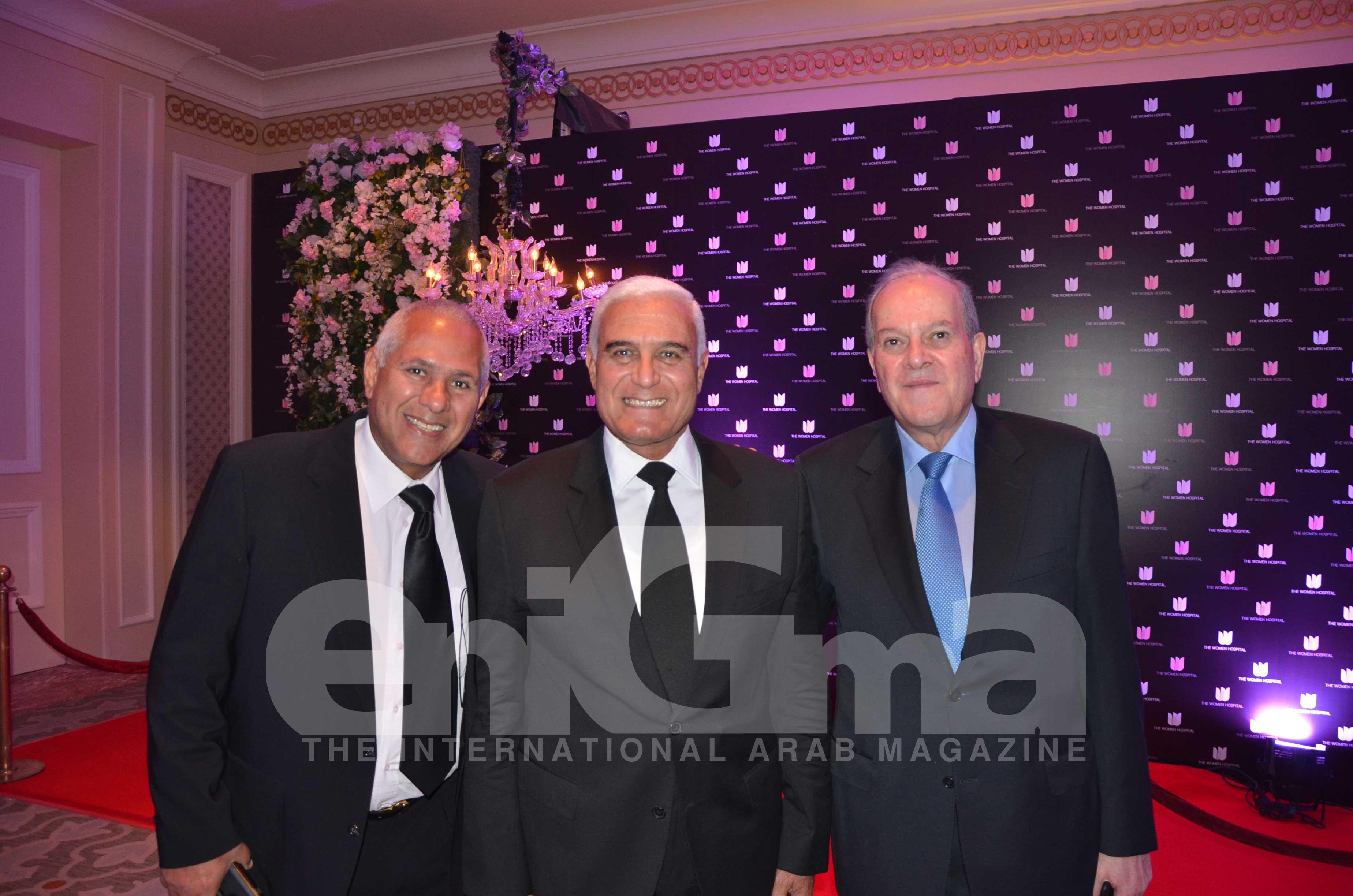 Mr. Karim Garranah, Mr. Mourad Mowafy & Mr. Hady Amer