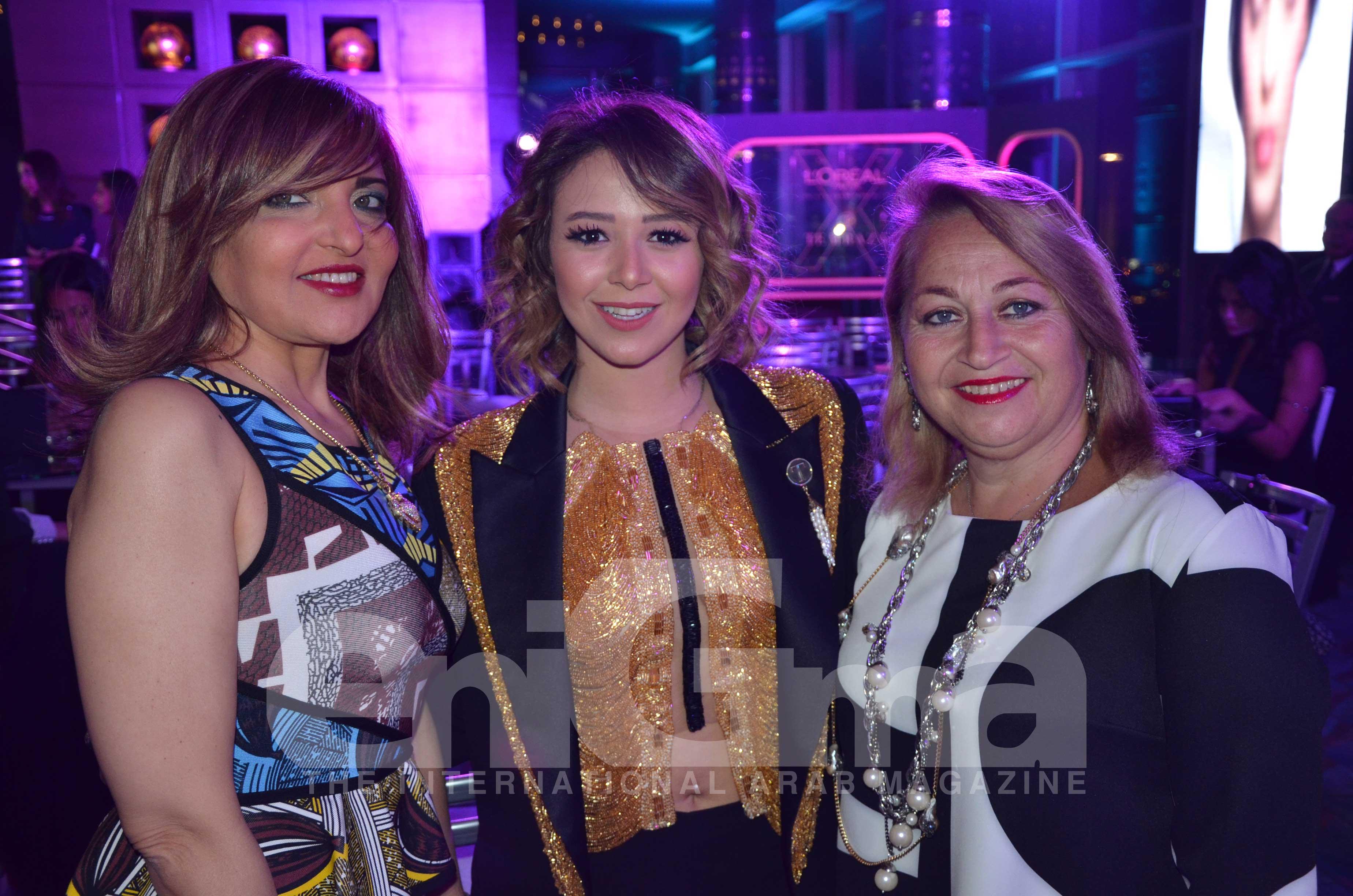 Ms. Amany El Cherif, Ms. Farida Temraz & Ms. Rania Madkour