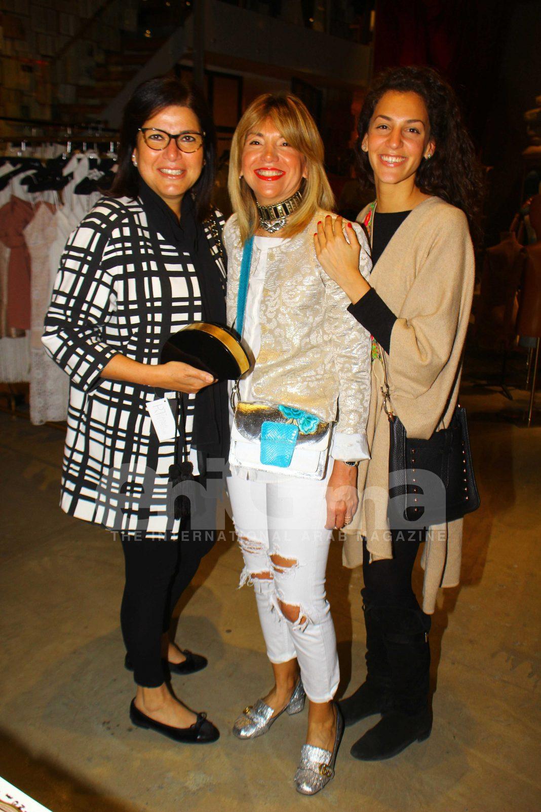Ms. Ingy El Kateb, Ms. Rania Teymour & Ms. Neveen Ramzy