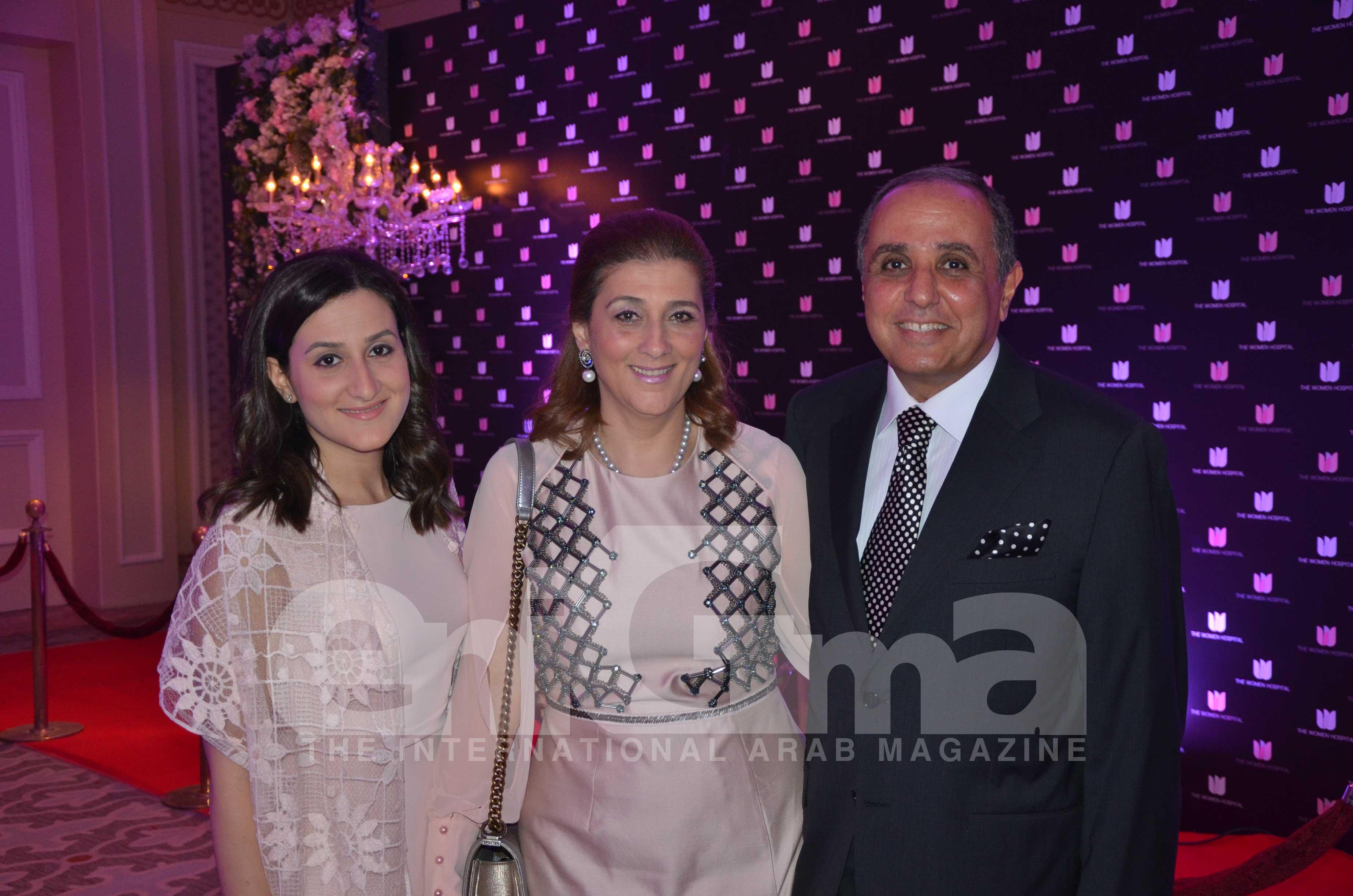 Ms. Nadine Shawki & Mrs. and Mr. Mohamed Shawki