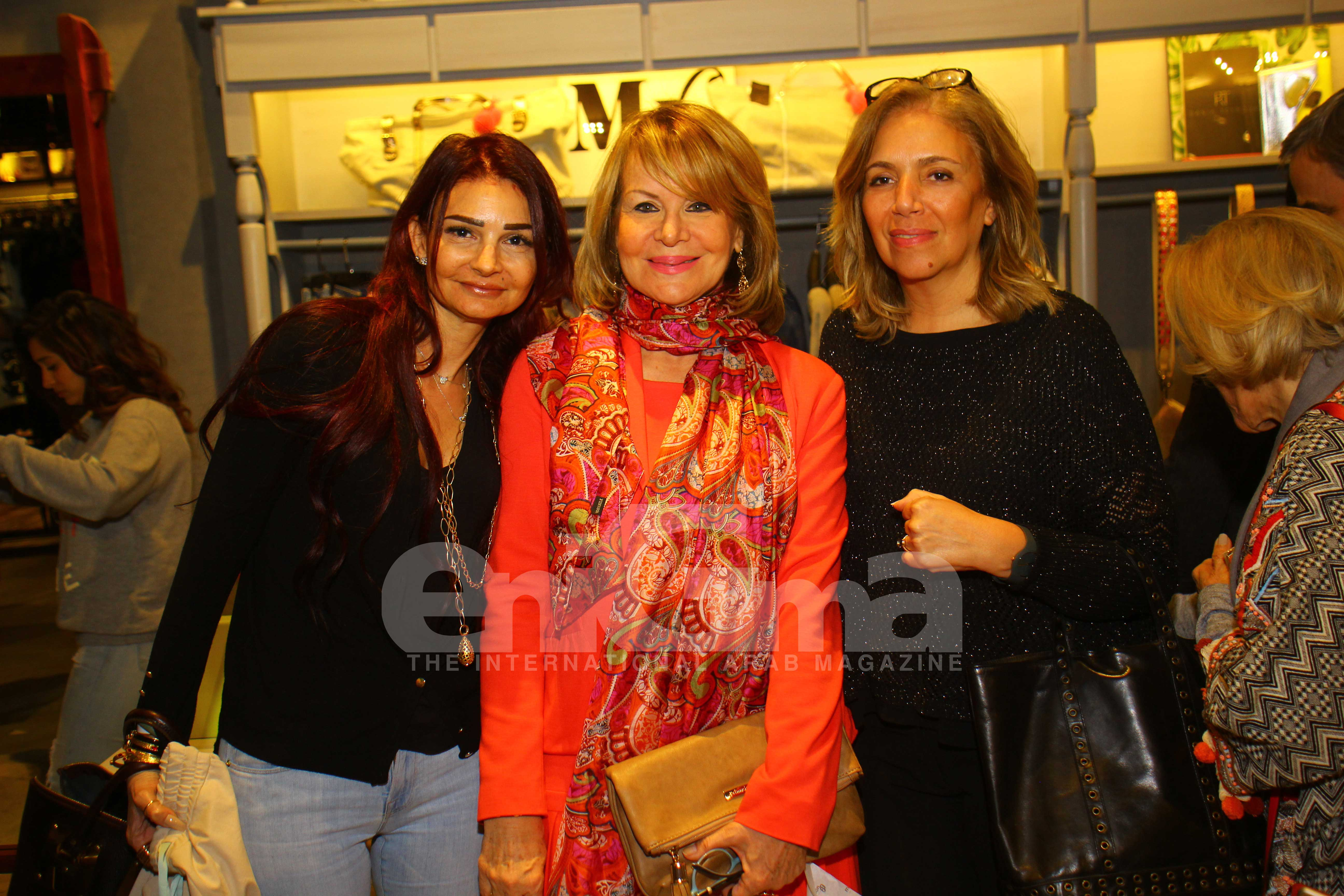 Ms. Ghada Moussa, Ms. Patty Bercovich & Ms. Sherine Rahmy