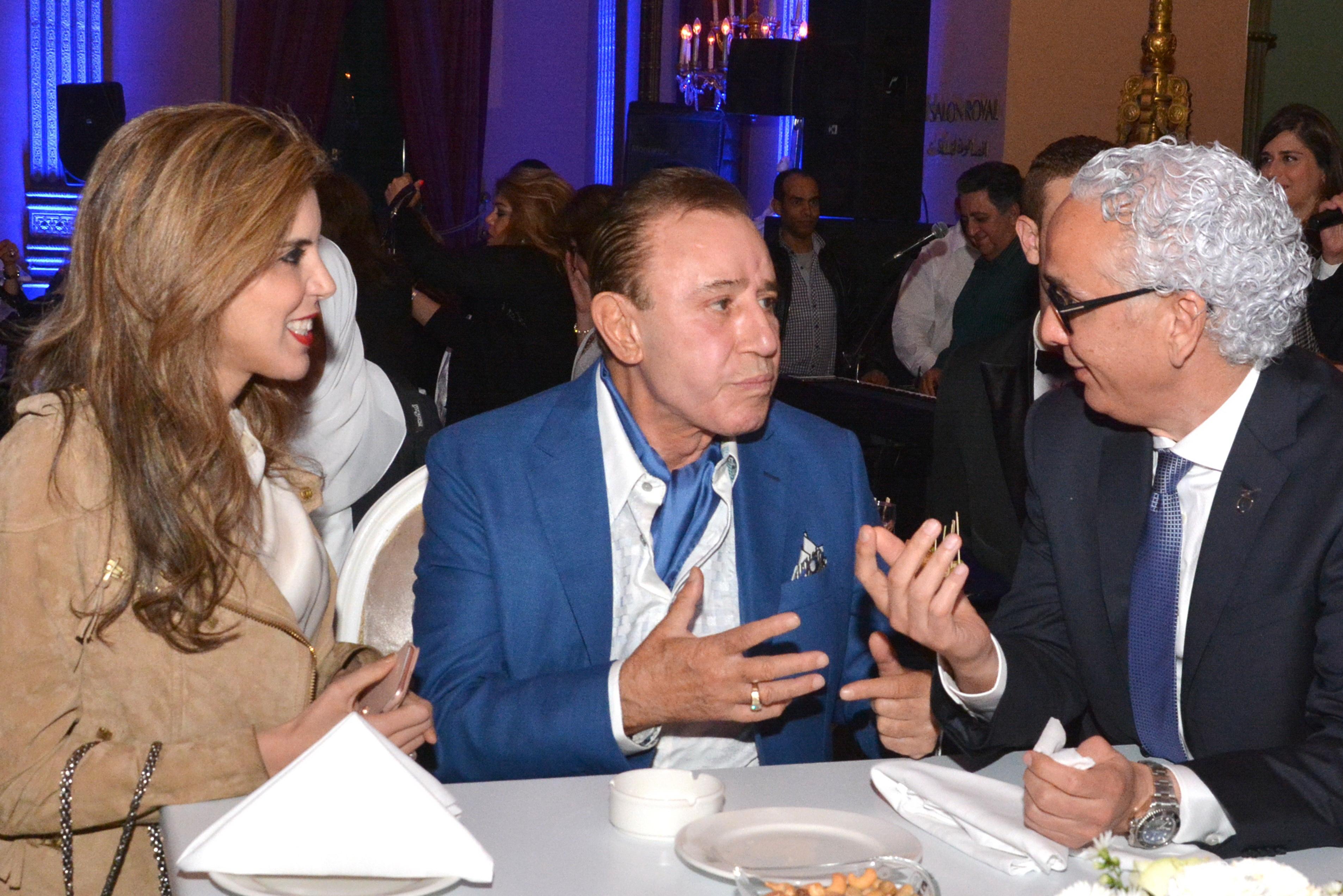 Ms. Yasmine Shihata, Dr. Obagi & Mr. Tarek Shady