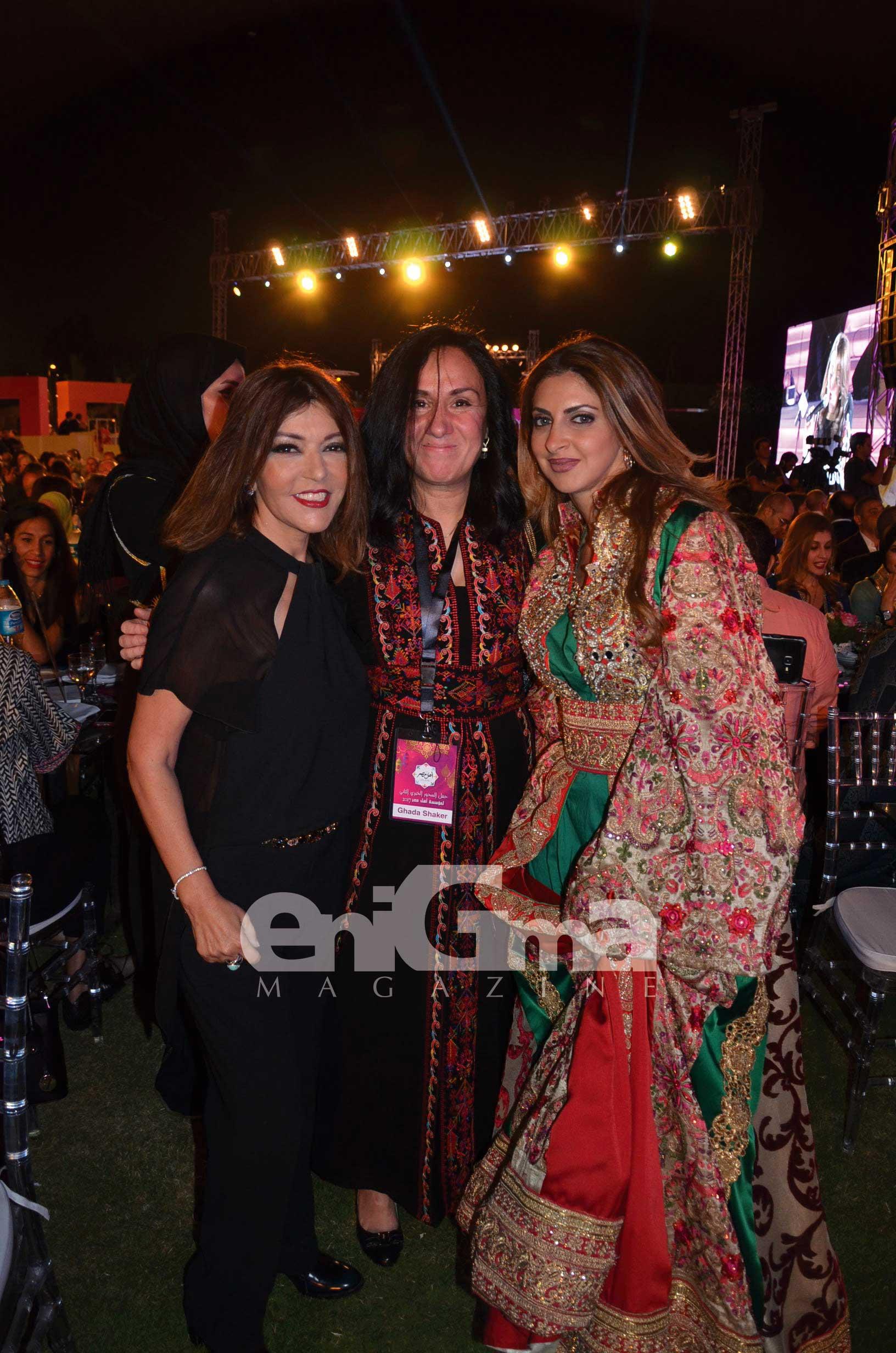 Ms.-Samira-Said,-Ms.-Ghada-Shaker-&-Ms.-Heba-El-Sewedy