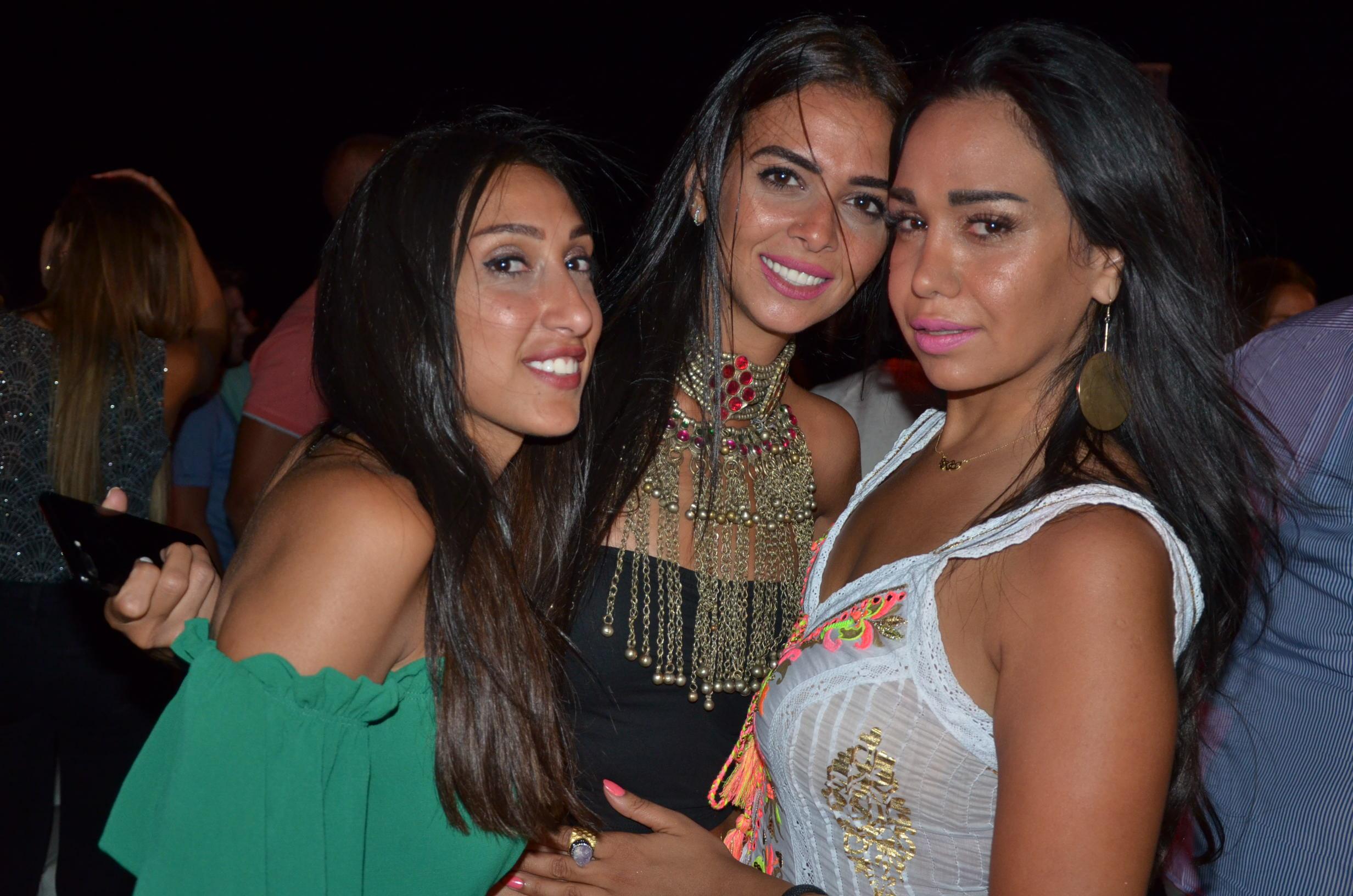 Ms. Farah Sarhan, Ms. Manar Abdou & Ms. Mai Abou Hashima